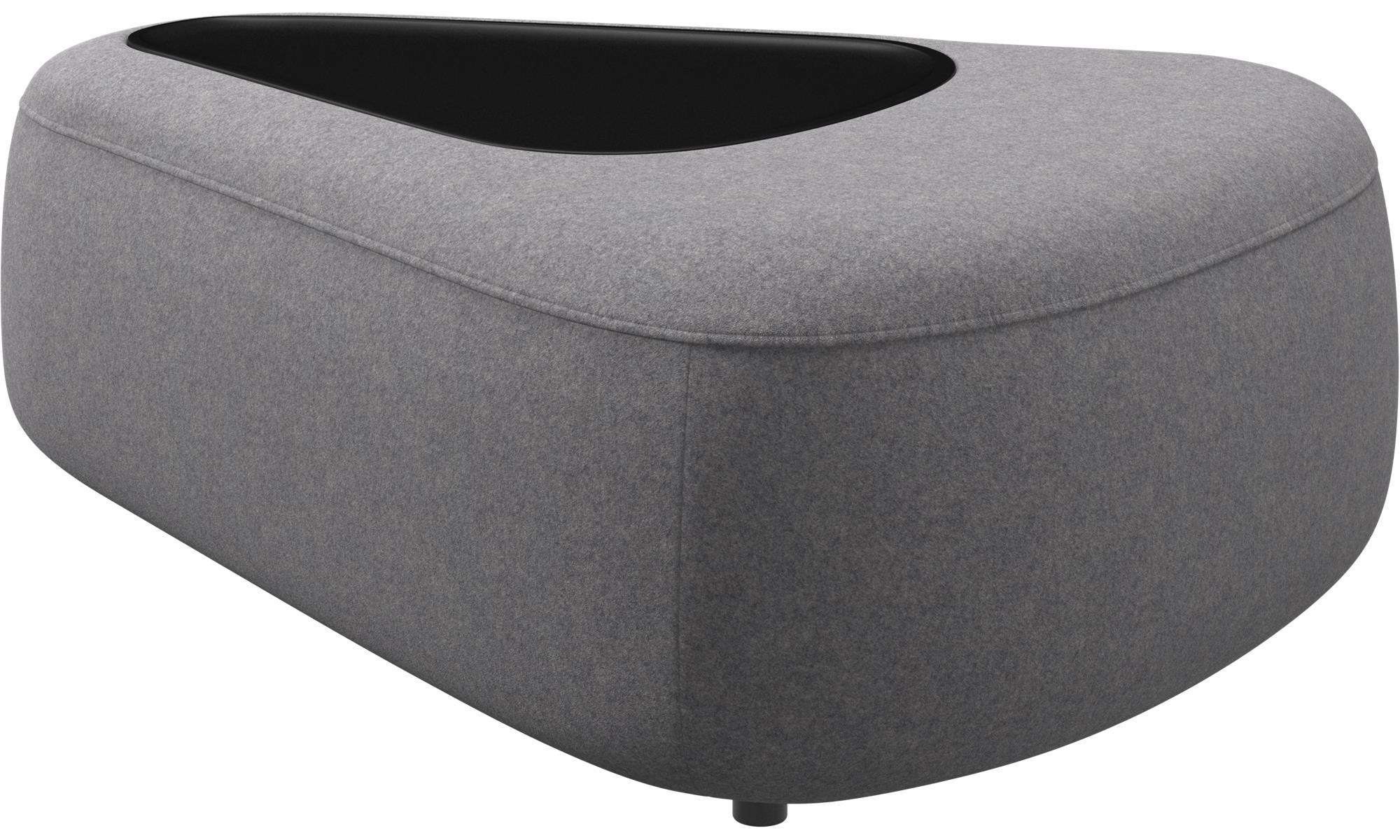 modular sofas ottawa triangular pouf with tray matt black structure boconcept. Black Bedroom Furniture Sets. Home Design Ideas