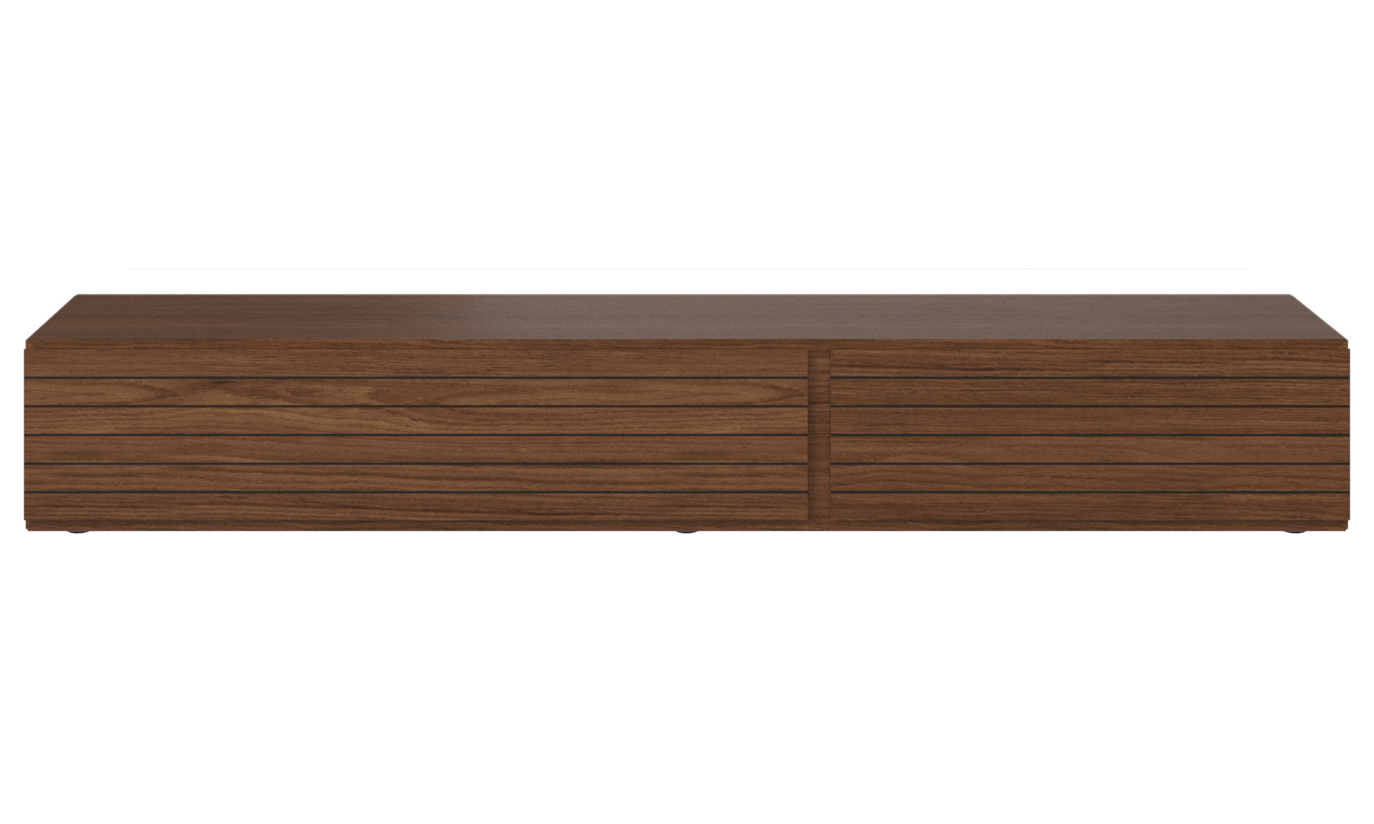 Tv units - Lugano base cabinet with drop down doors - Walnut