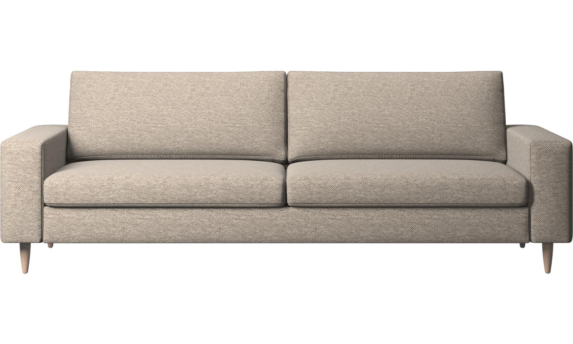 3-sitzer Sofas - Indivi Sofa - Beige - Stoff