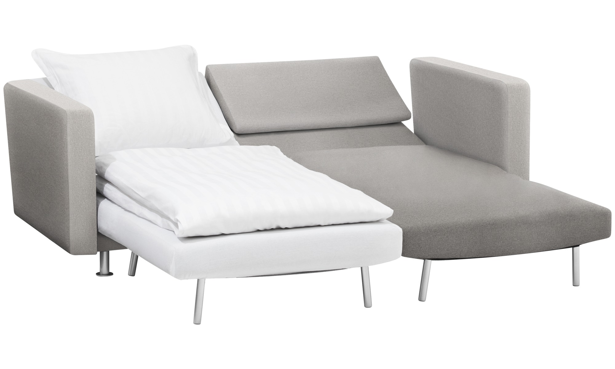 sofa beds - melo 2 sofa with reclining and sleeping function