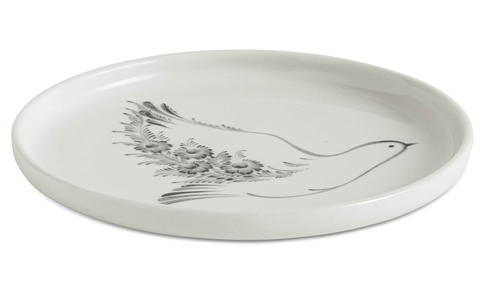 nora breakfast plates with floral pattern - BoConcept