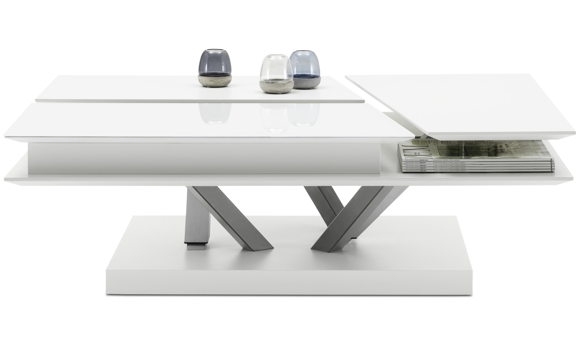 Coffee tables - Barcelona functional coffee table with storage - rectangular