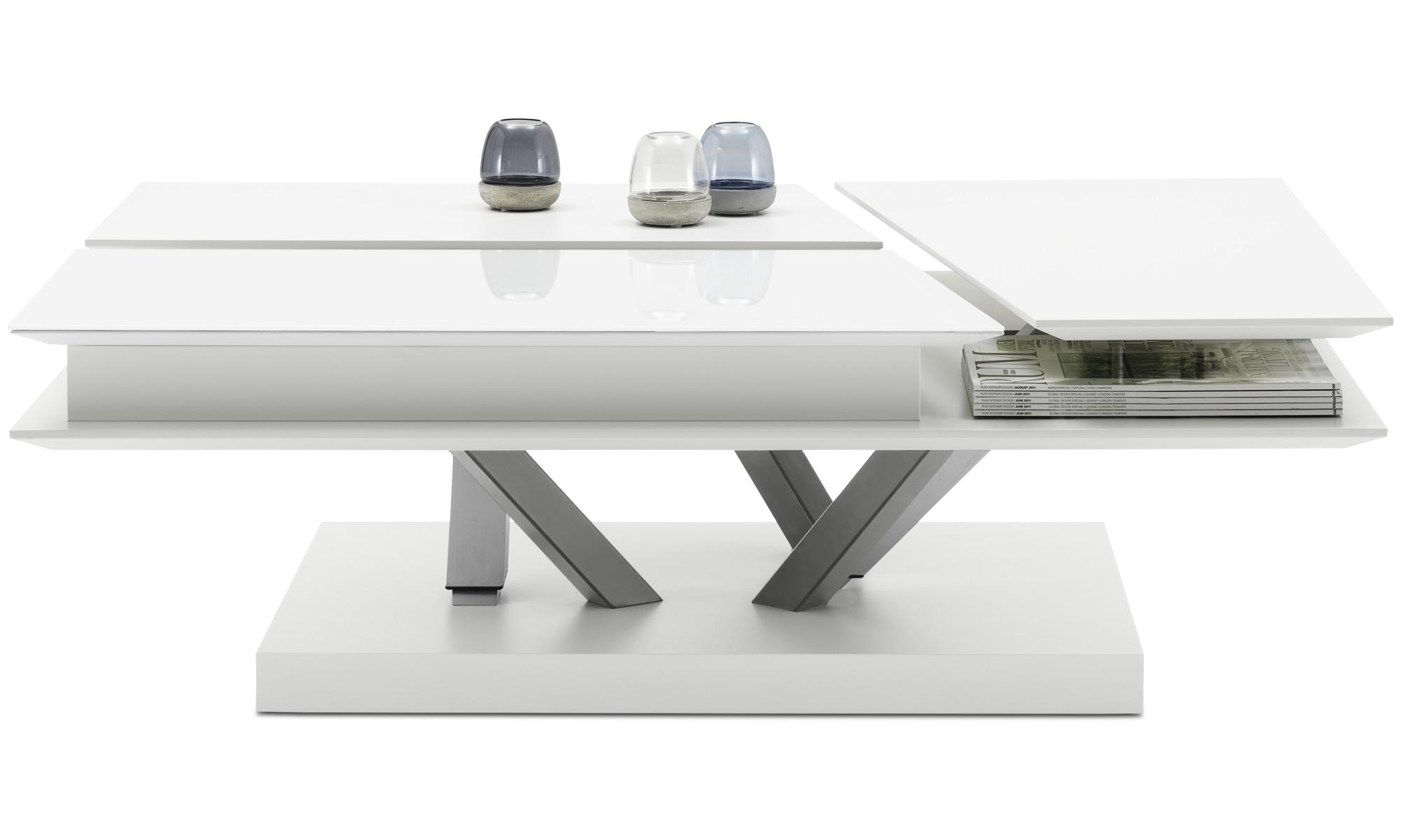 Tables basses - Table basse multifonction Barcelona avec espace de rangement - rectangulaire