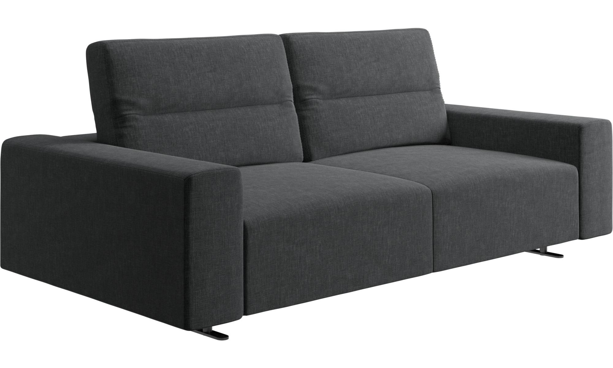 canap s 2 places et demi canap hampton avec dossier ajustable et espace de rangement c t. Black Bedroom Furniture Sets. Home Design Ideas