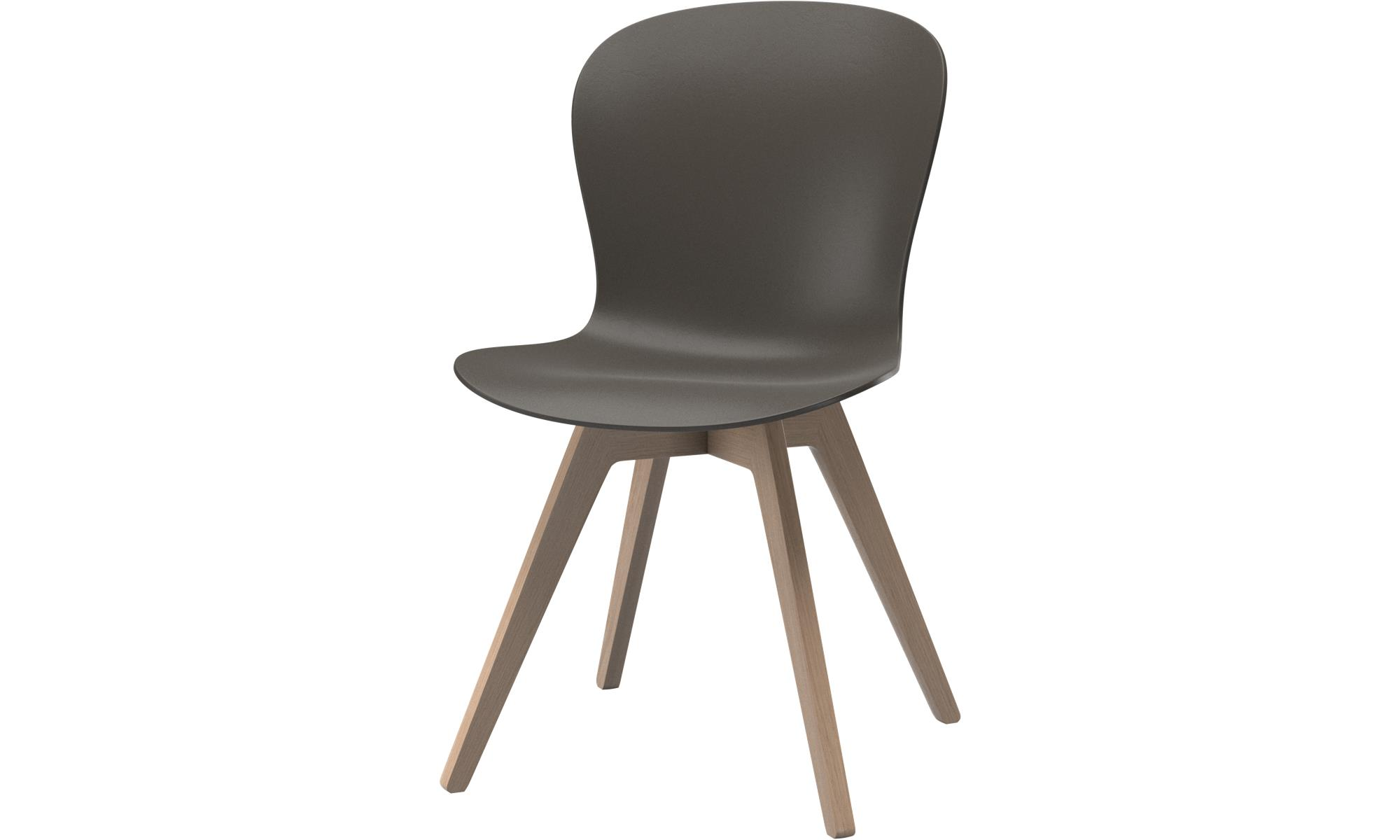 Dining chairs - Adelaide chair - Green - Oak