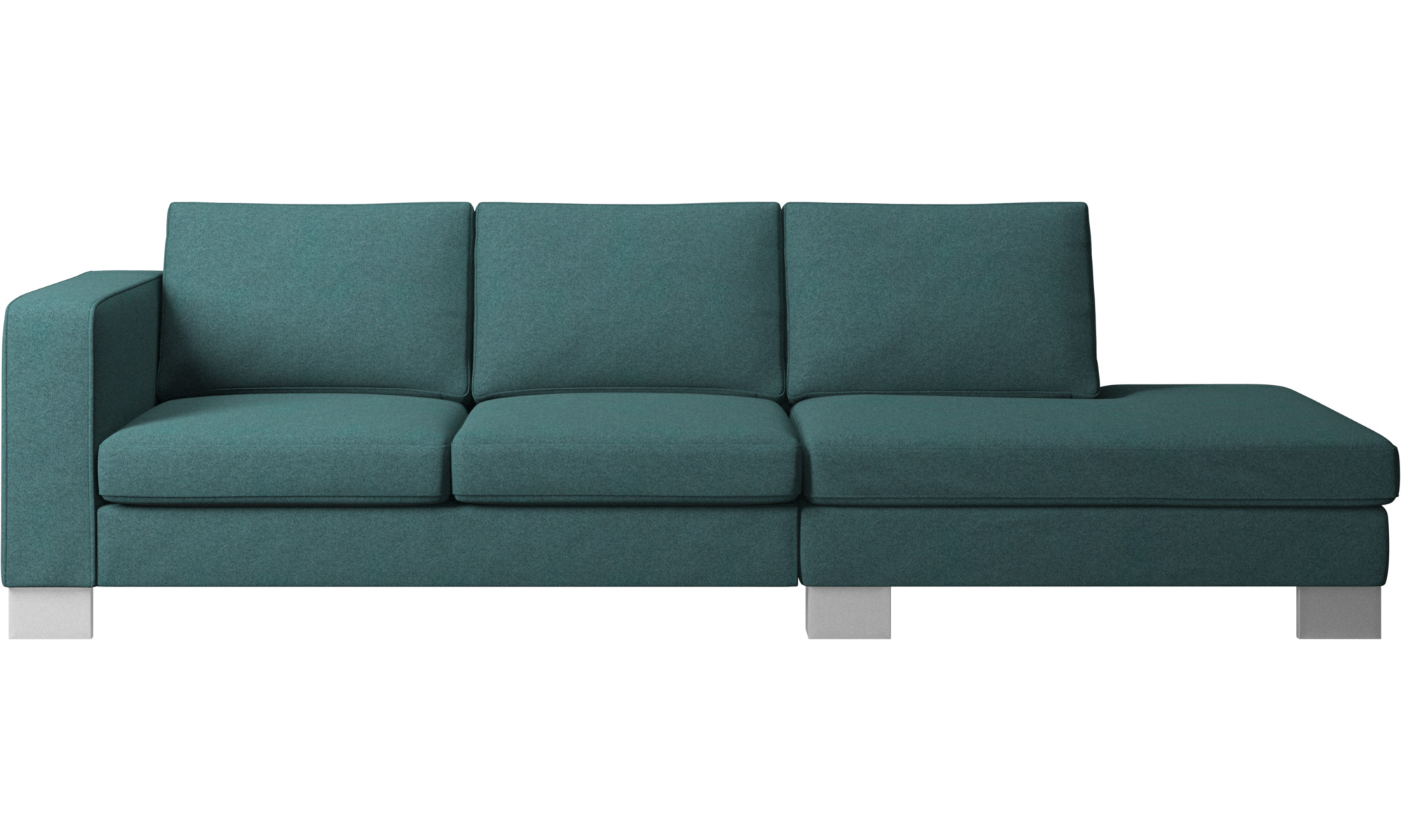 Sofas With Open End Indivi 2 Sofa With Lounging Unit Boconcept