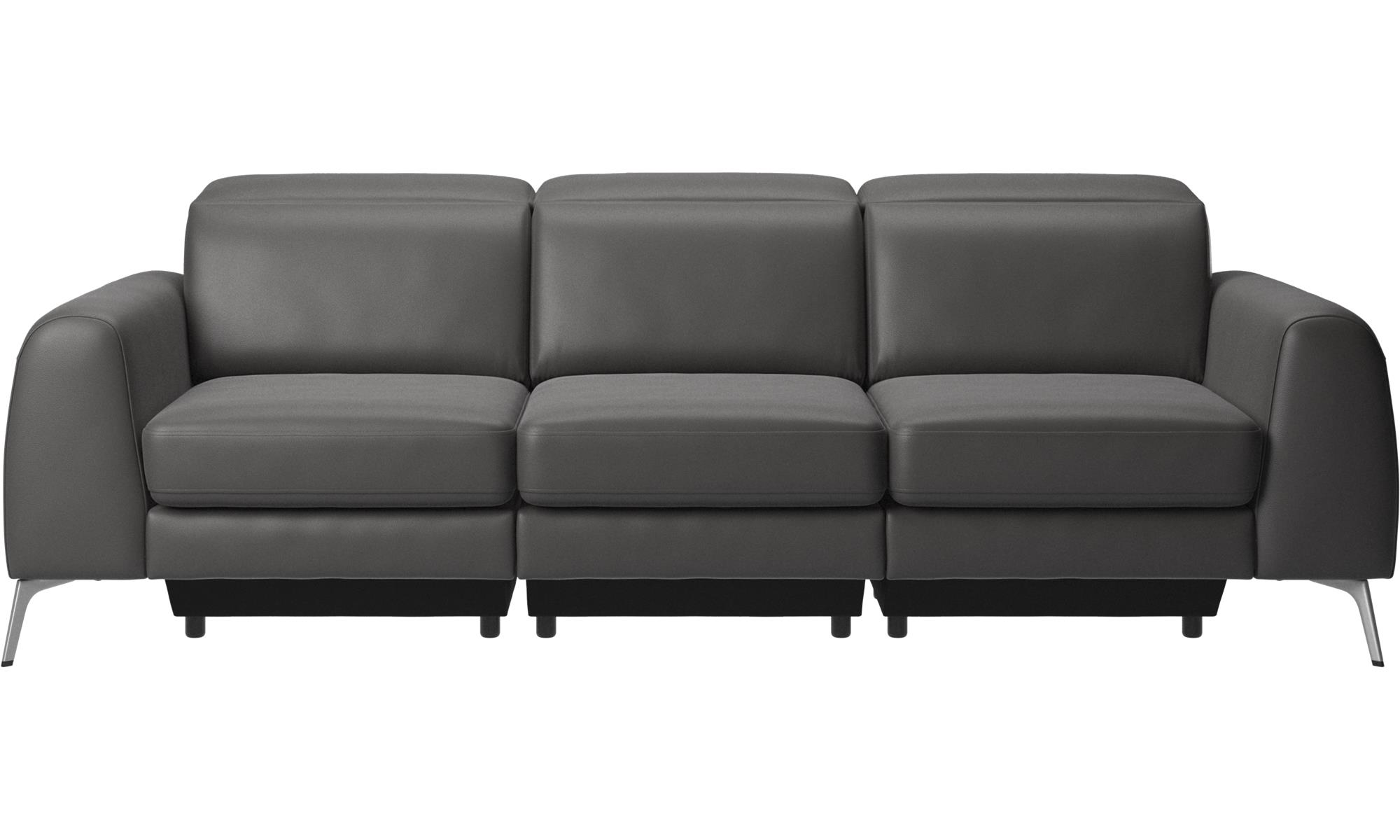 3 sitzer sofas madison sofa mit verstellbarer kopfst tze. Black Bedroom Furniture Sets. Home Design Ideas