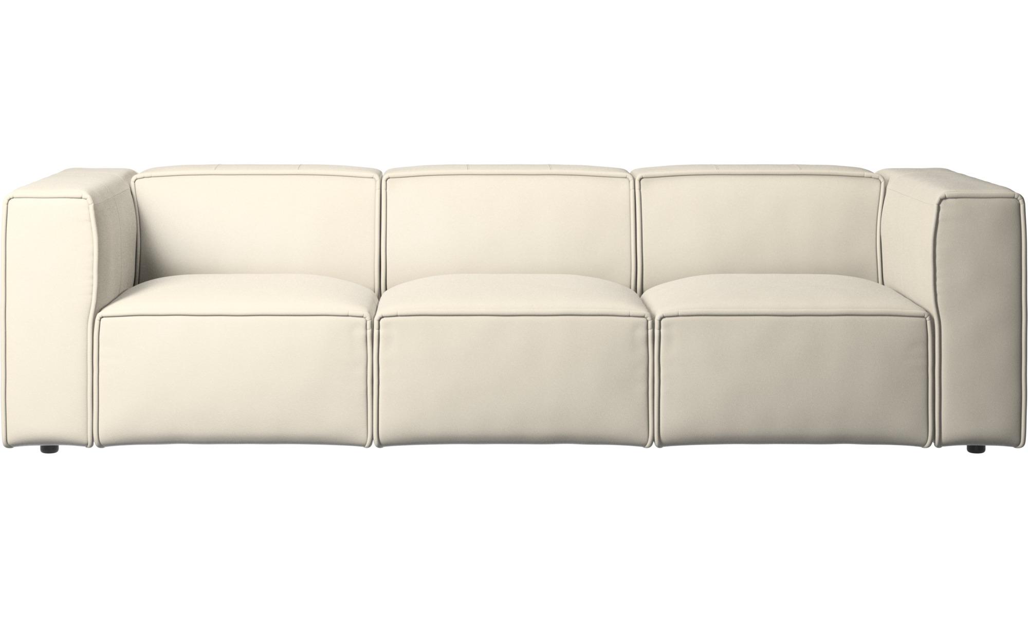 Modular sofas - Carmo sofa - White - Leather