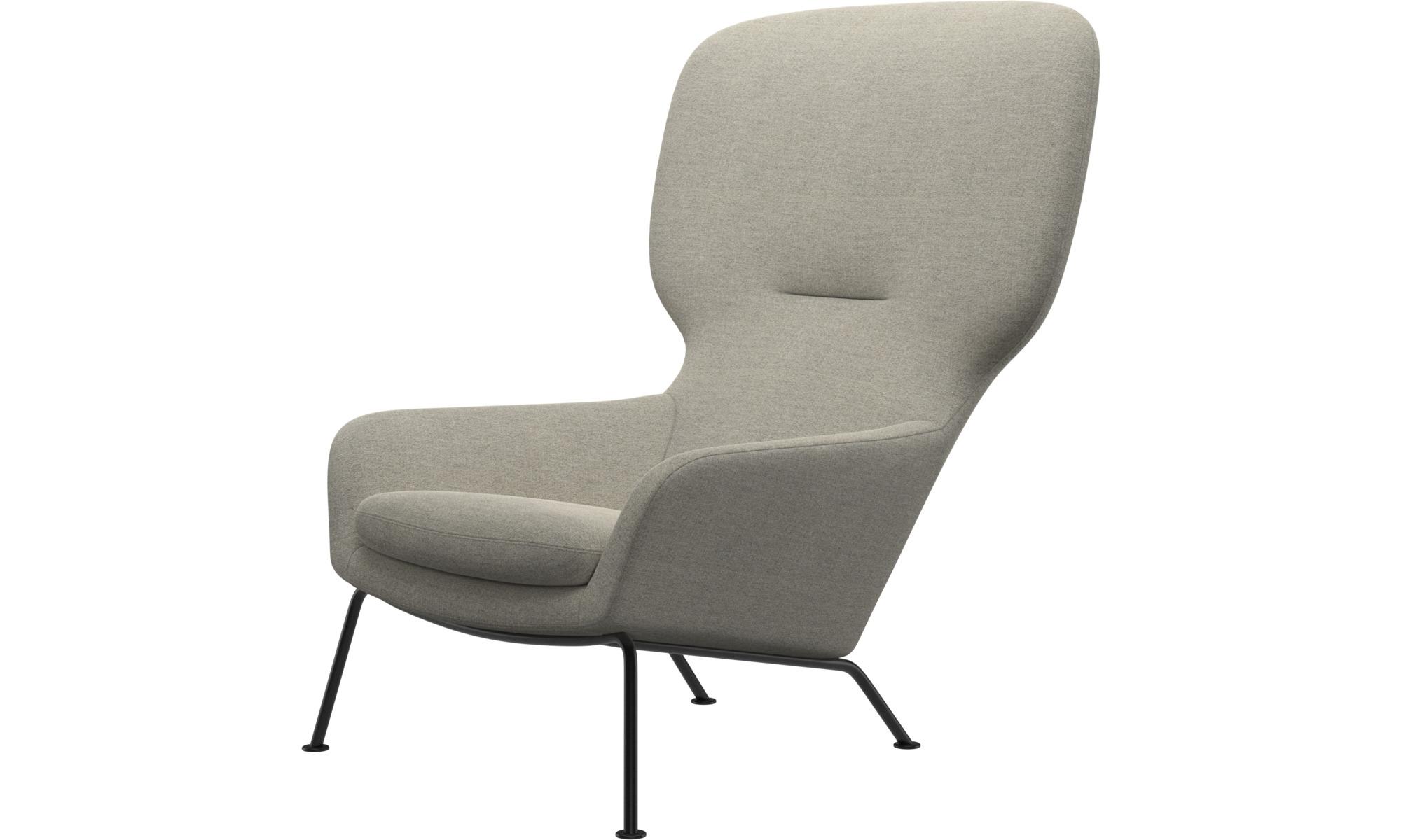 Armchairs - Dublin chair - Beige - Fabric