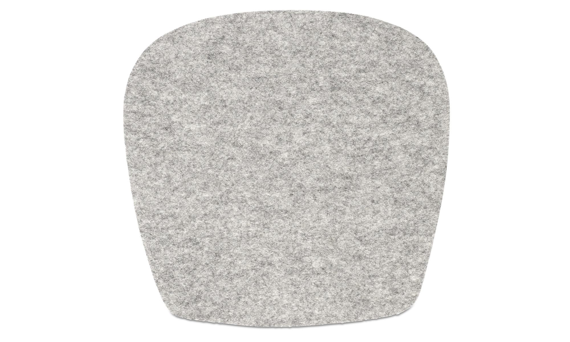 Poduszki na krzesła - Poduszka siedziskowa Morgan - Szary - Tkanina