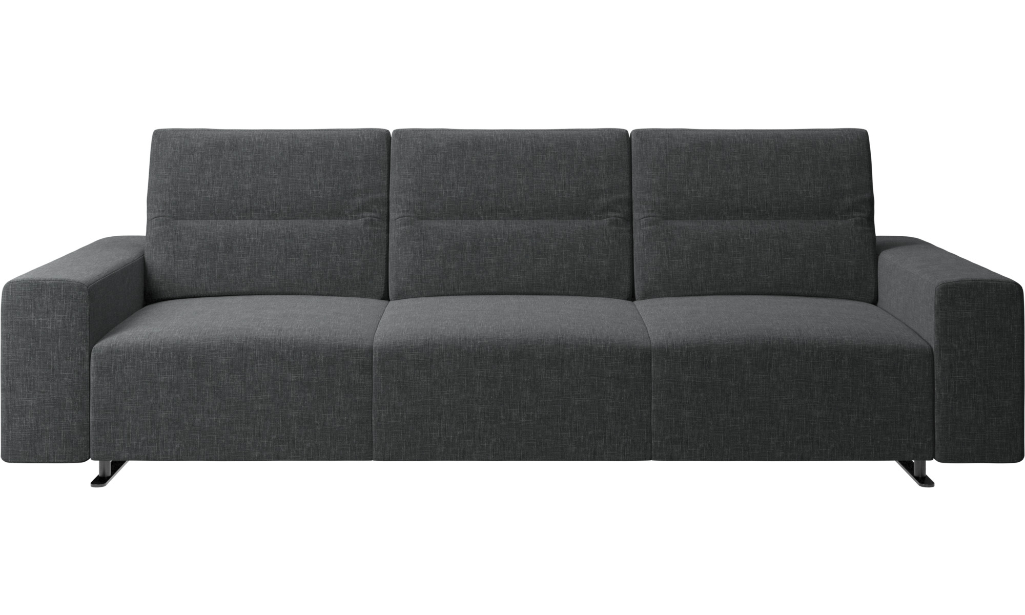 3 seater sofas hampton sofa with adjustable back and storage on the right side boconcept. Black Bedroom Furniture Sets. Home Design Ideas
