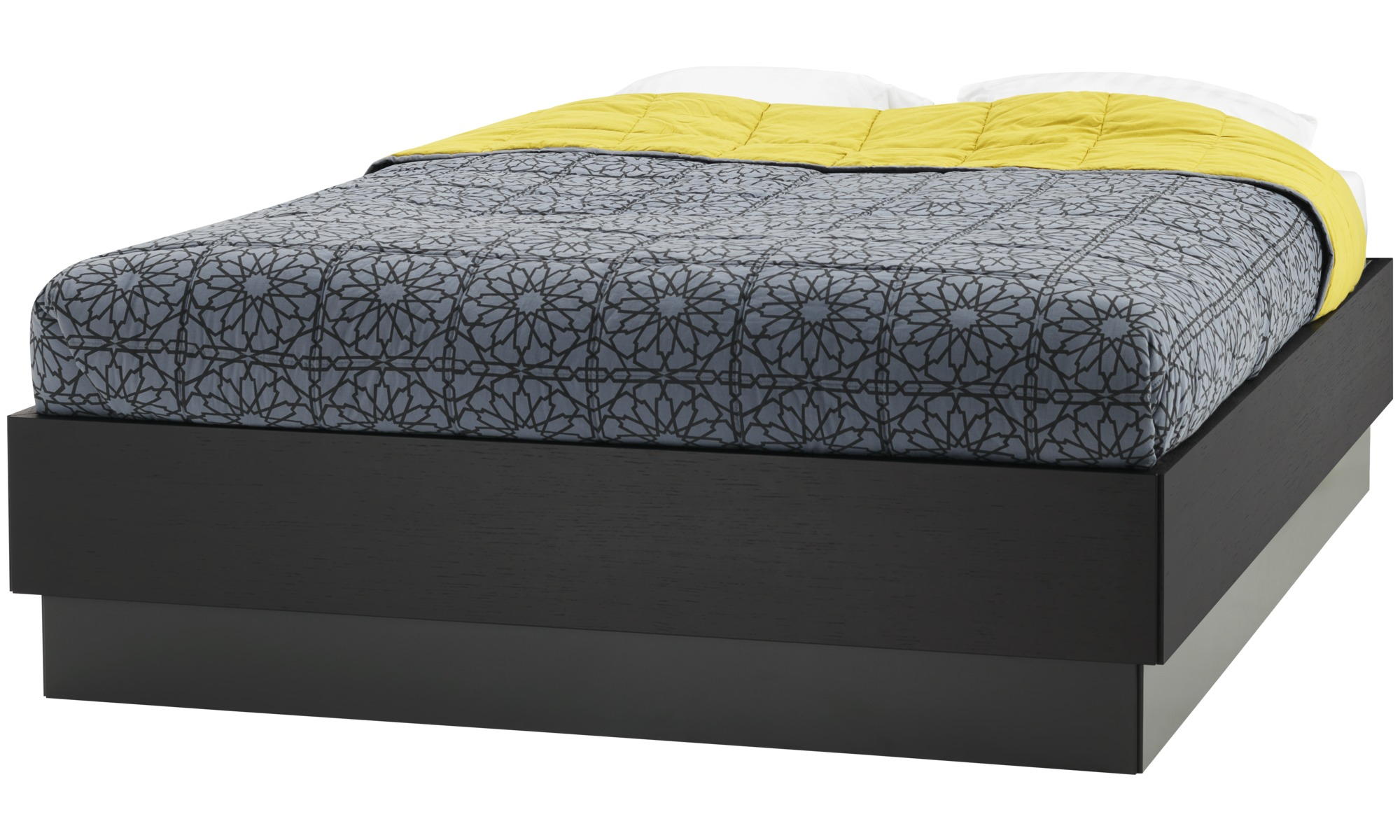 lugano storage bed with lift up frame and slats excl mattress