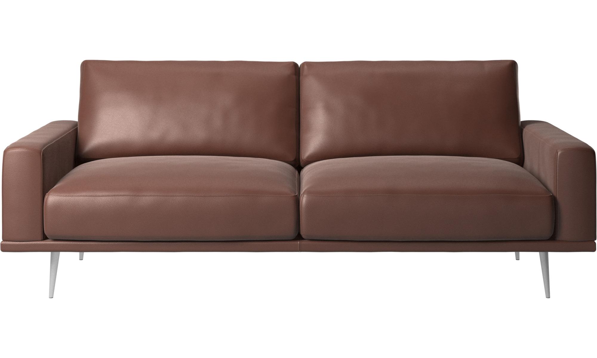 2 5 Seater Sofas Carlton Sofa Brown Leather
