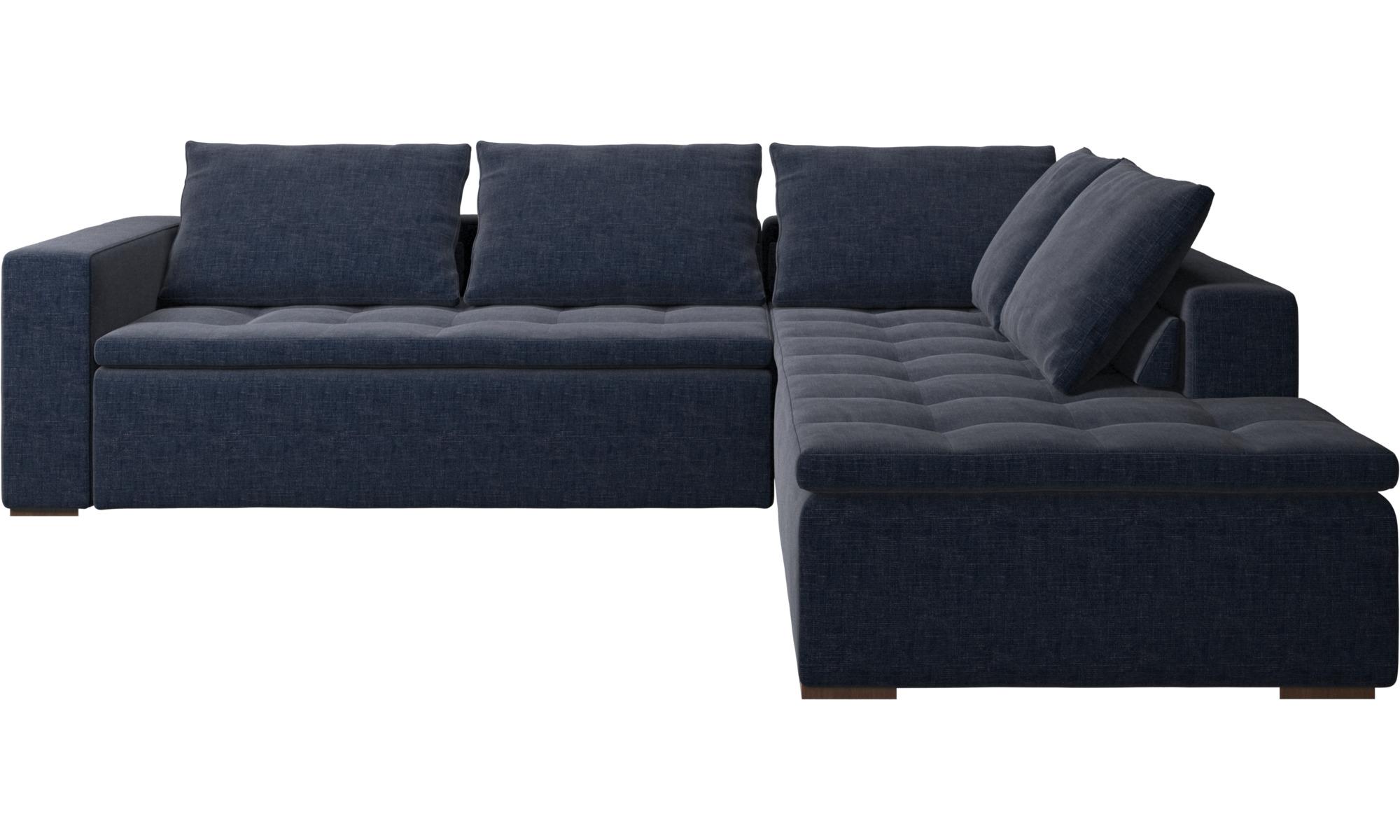 Una textura sofisticada sof esquinero mezzo con m dulo - Sofas de descanso ...
