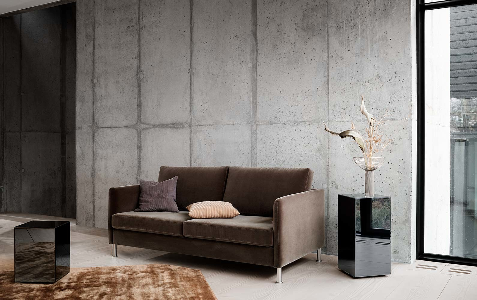Sofas with open end - Indivi sofa with lounging unit