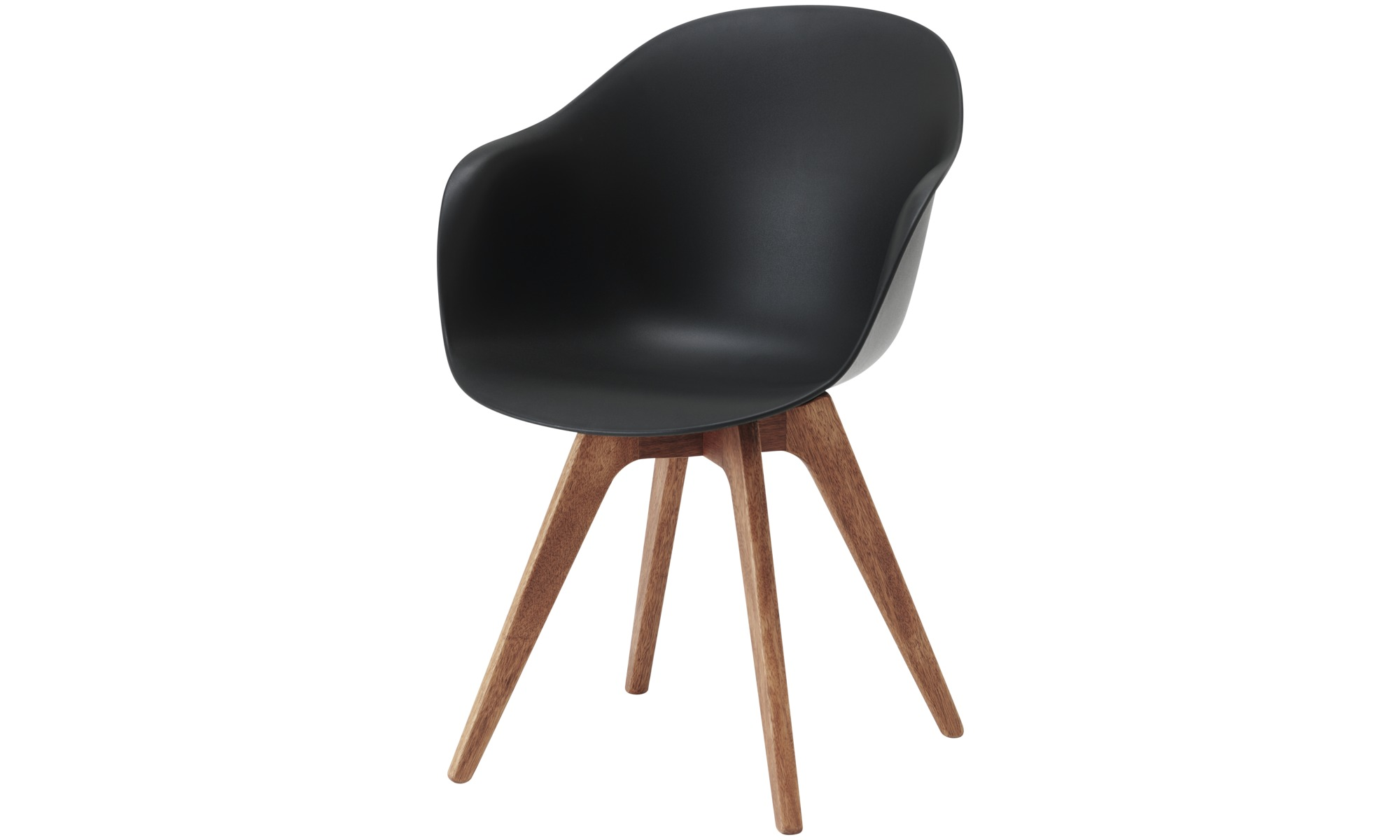 Dining chairs - Adelaide chair (for in and outdoor use) - Black - Plastic
