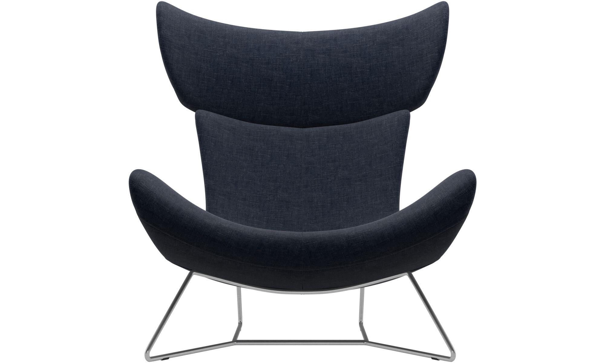 dunkelblauer napoli stoff imola sessel boconcept. Black Bedroom Furniture Sets. Home Design Ideas