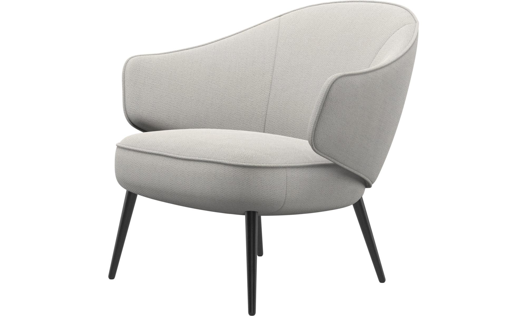 Fauteuils - Charlotte fauteuil - Wit - Stof