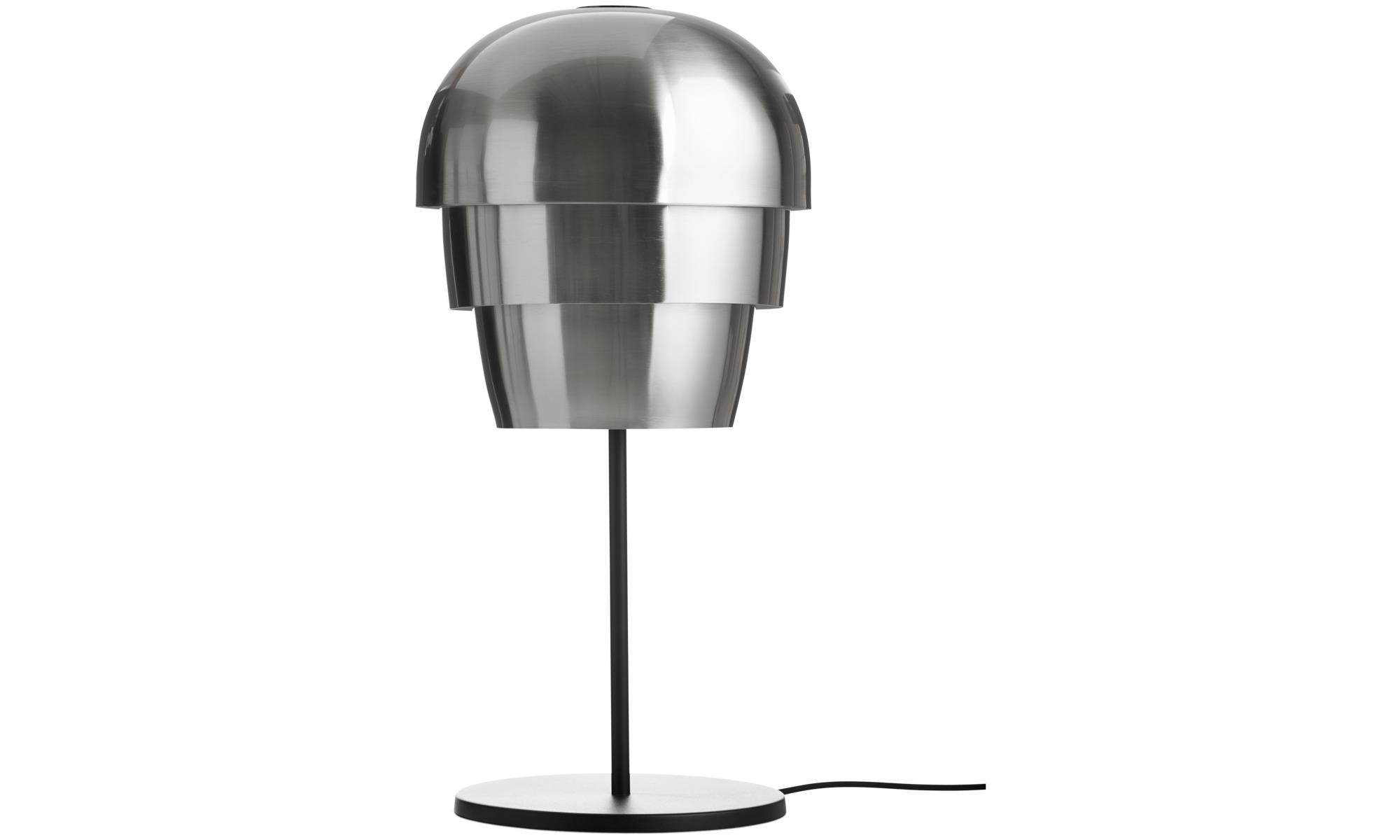 Lampor - Pine cone bordslampa - Svart - Metall