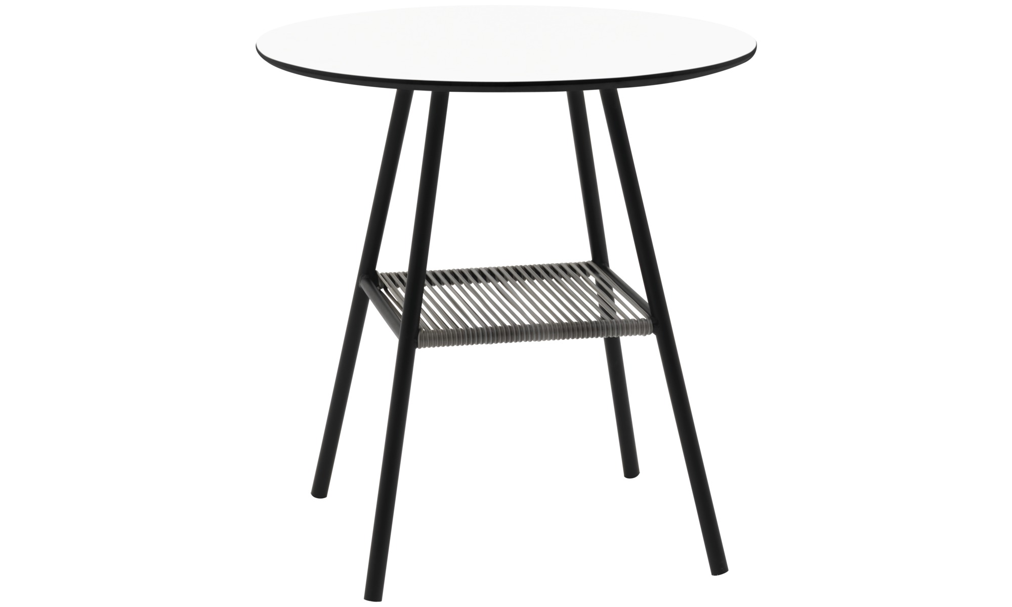 Outdoor tables - Elba table (for in and outdoor use) - round - White - Laminate