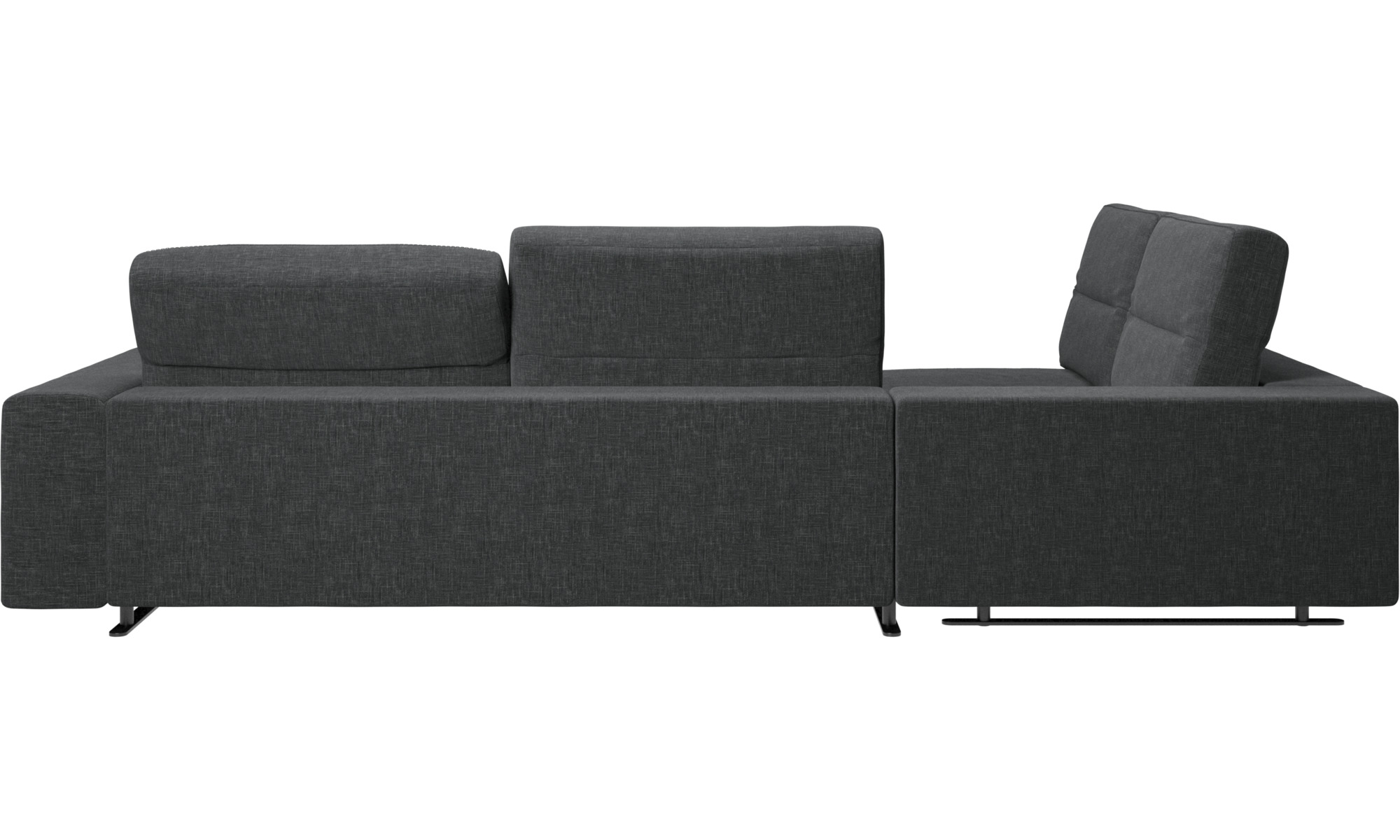 Corner sofas - Hampton corner sofa with adjustable back and storage ...