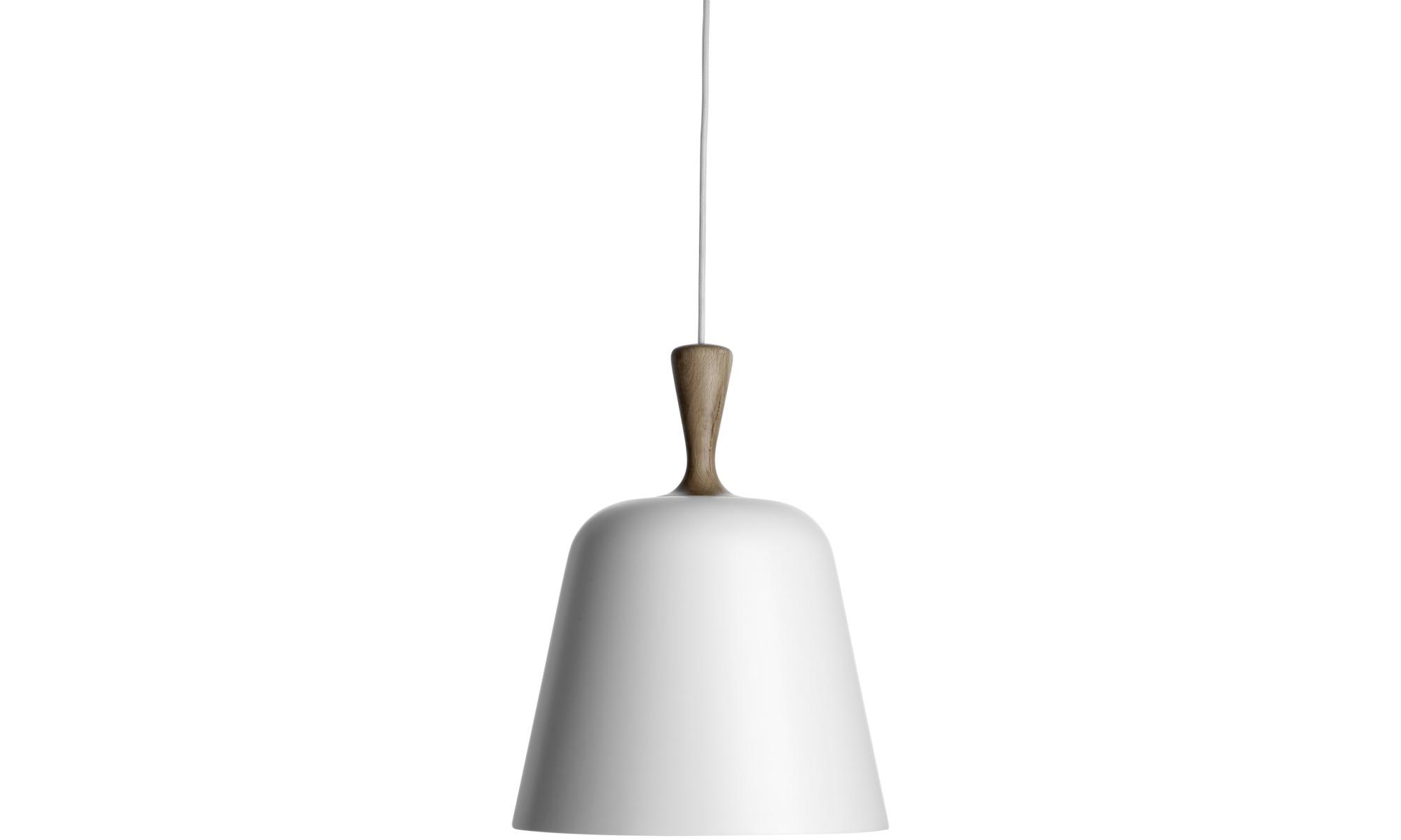 Lampy - lampa wisząca Handle Me - Biały - Metal