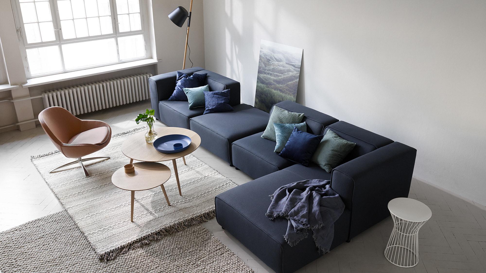 Sofás modulares - Sofá Carmo con módulo chaise-longue