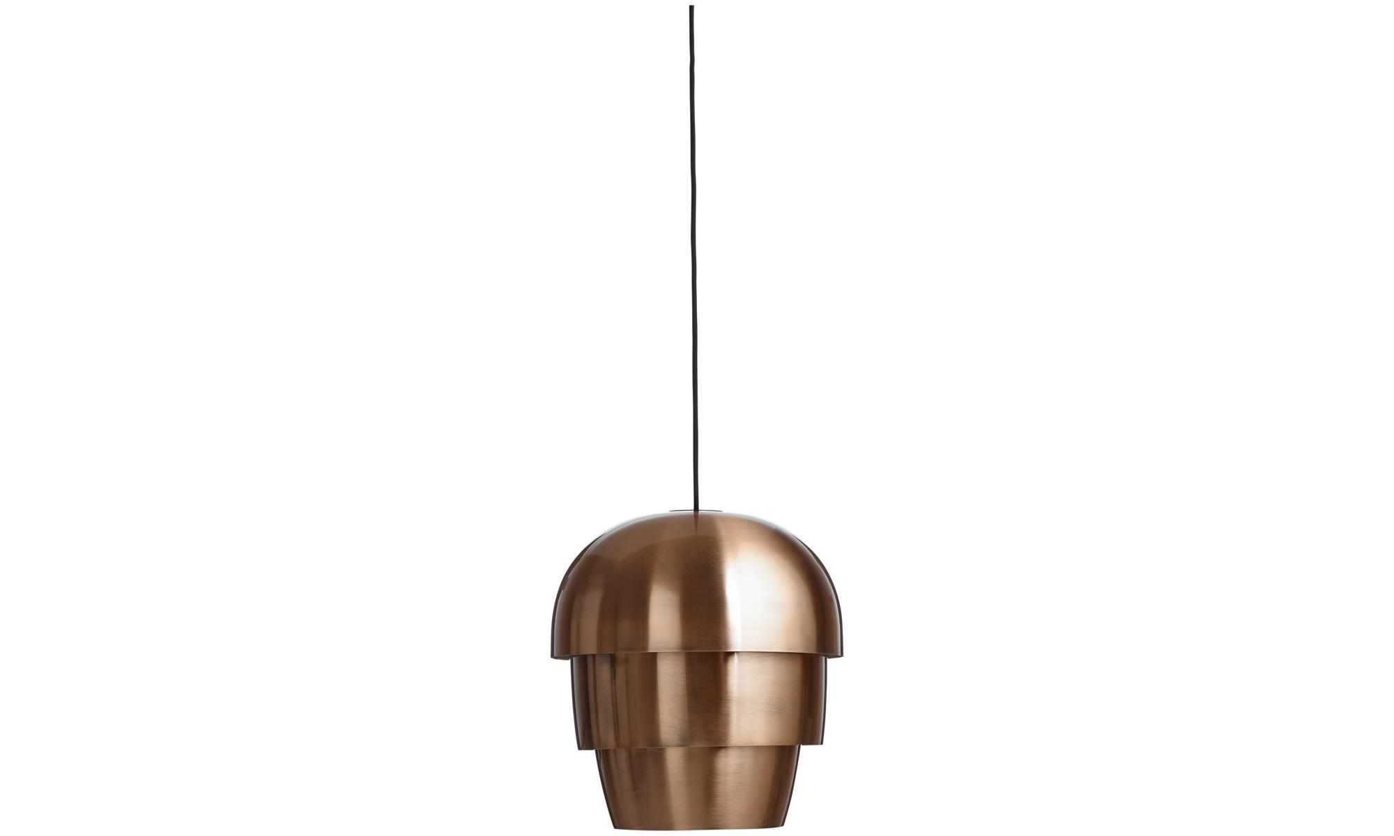 Lampy - Lampa wisząca Pine cone - Pomarańczowy - Metal