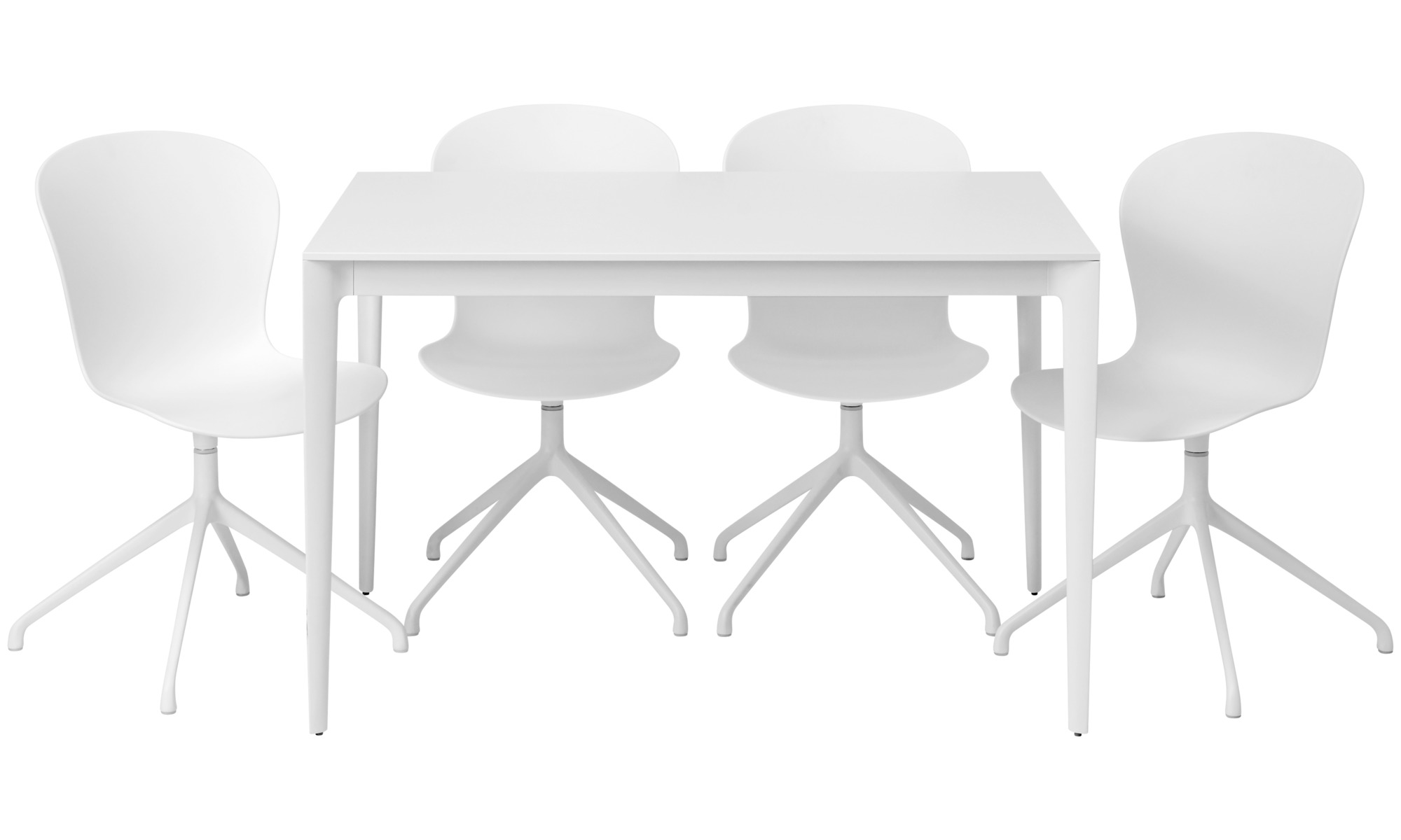 Dining tables torino table boconcept for Table salle a manger blanche