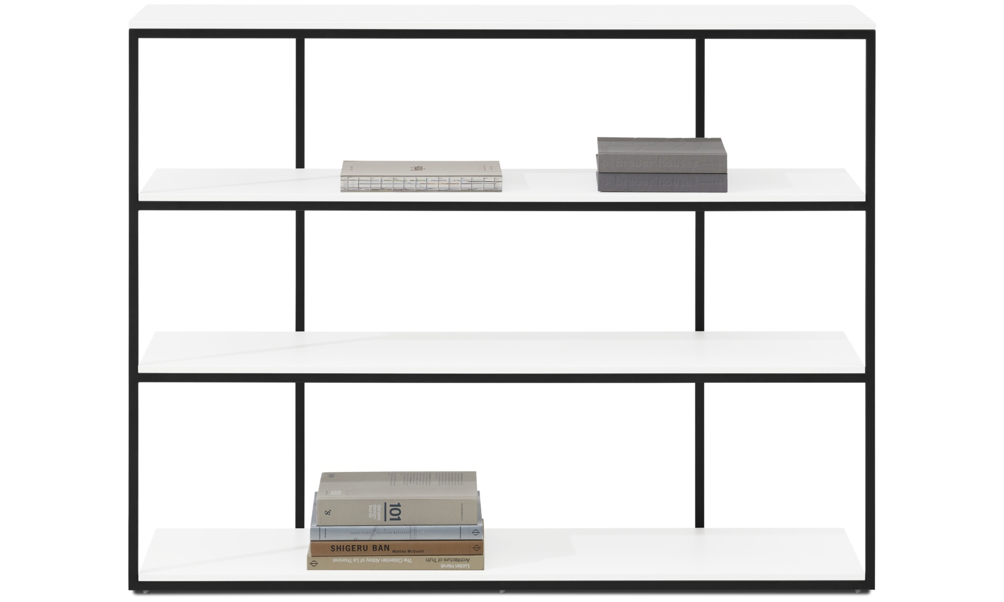 Hallway furniture - Bordeaux console table - rectangular - White - Lacquered