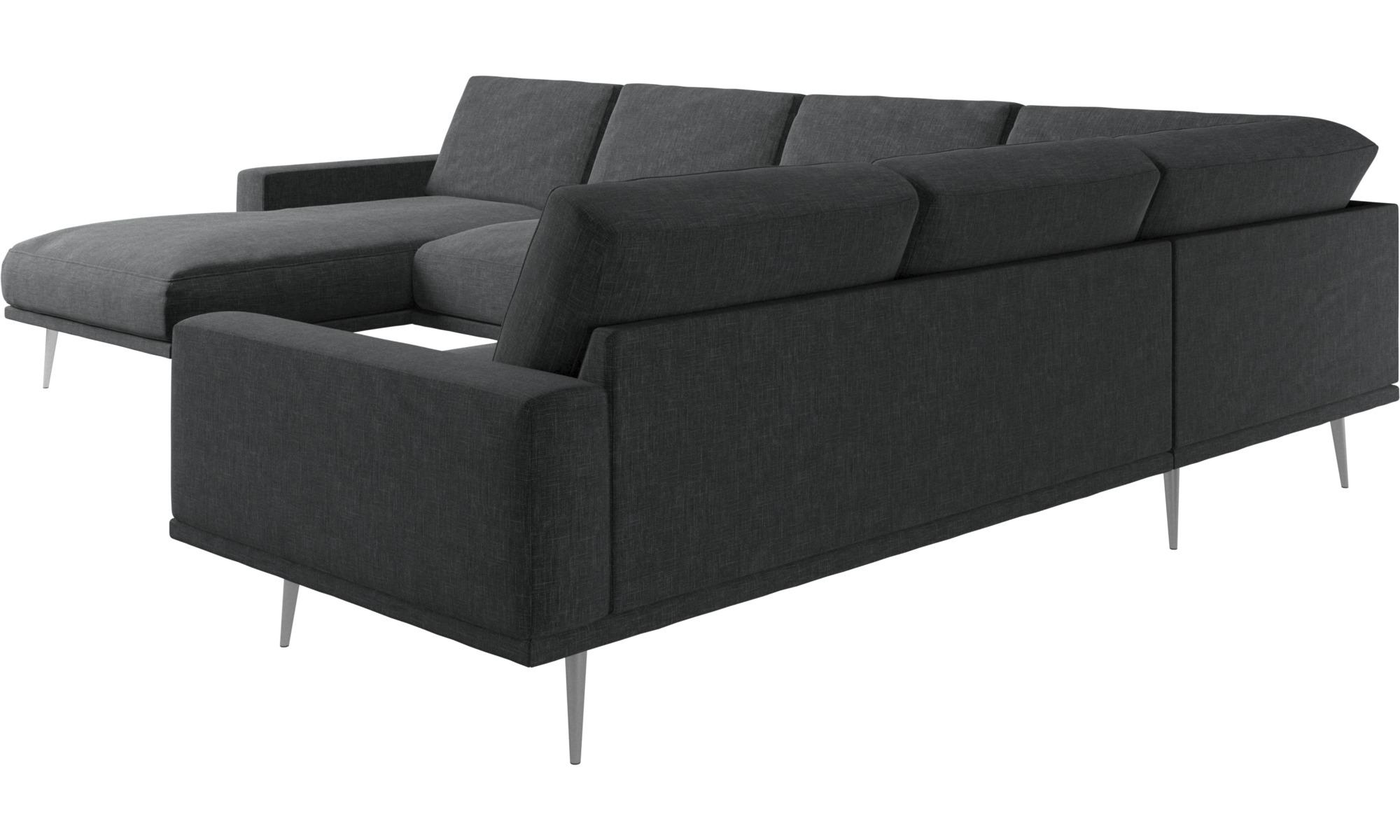 Hoekbank Chaise Lounge.Carlton Hoekbank Met Ligelement