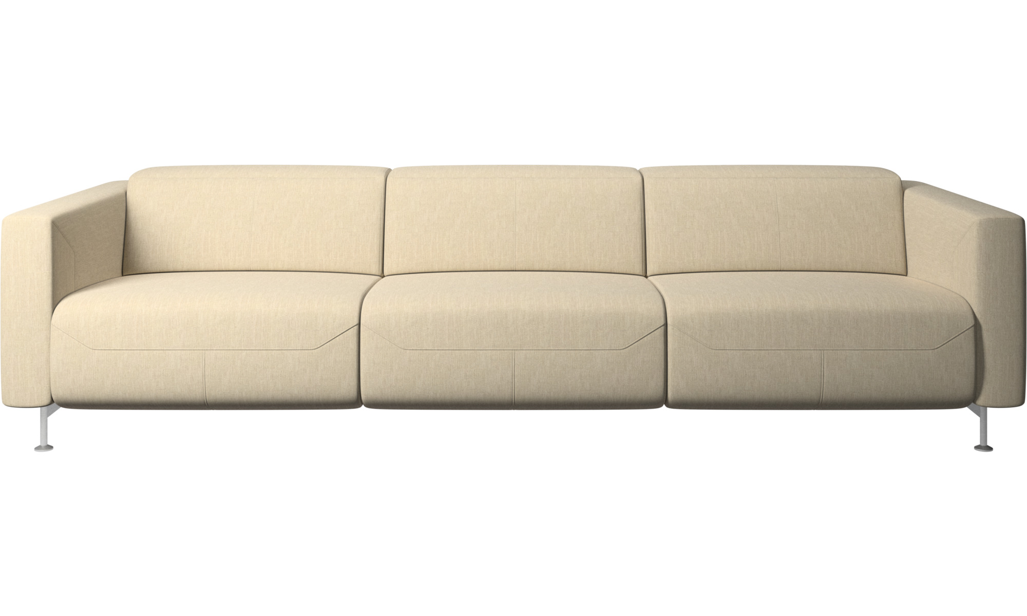 Justerbare sofaer - Parma sofa med hvilefunktion - Brun - Stof