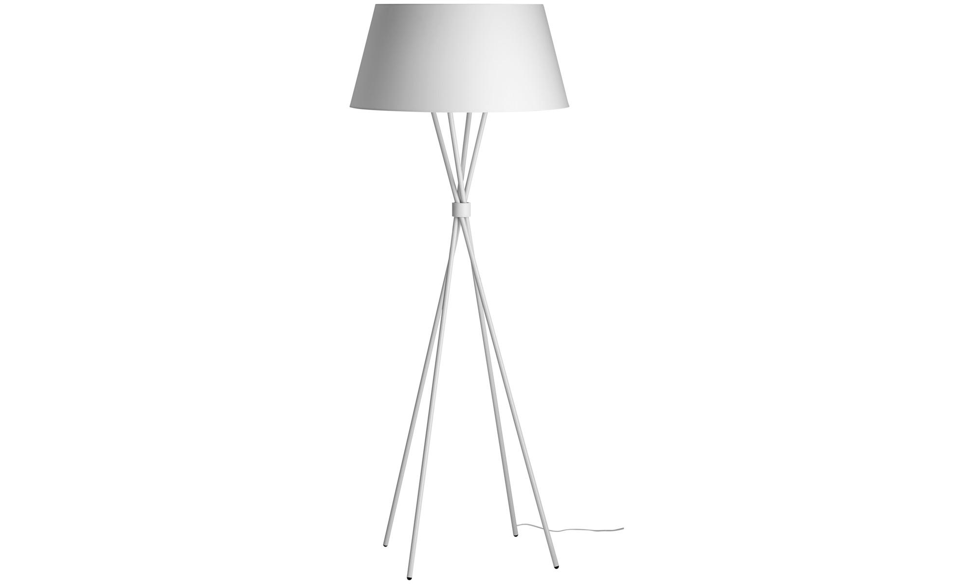 lamps main floor lamp white metal