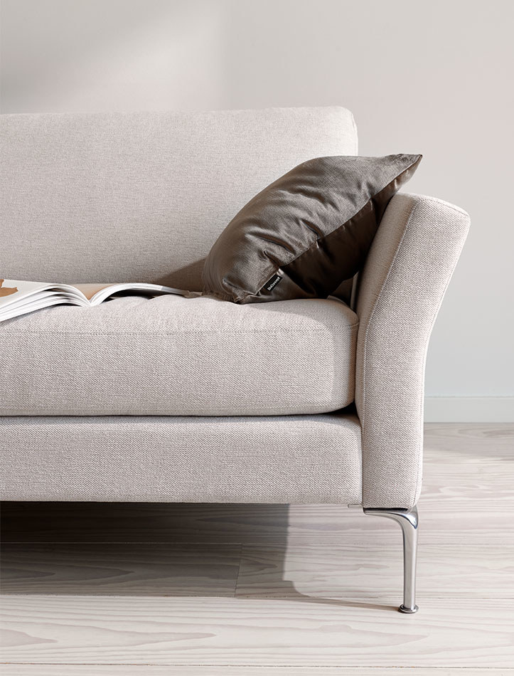 Chaise lounge sofas - Marseille sofa with resting unit