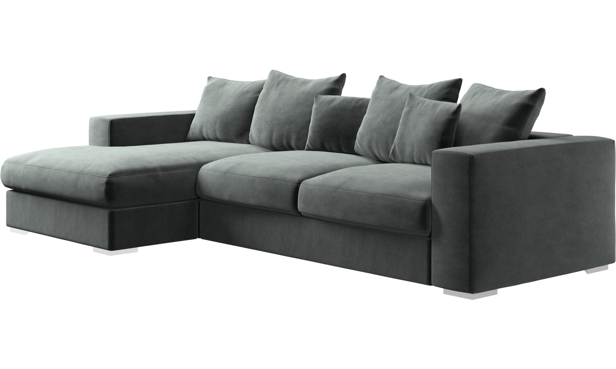 Chaise lounge sofas Cenova sofa with resting unit BoConcept