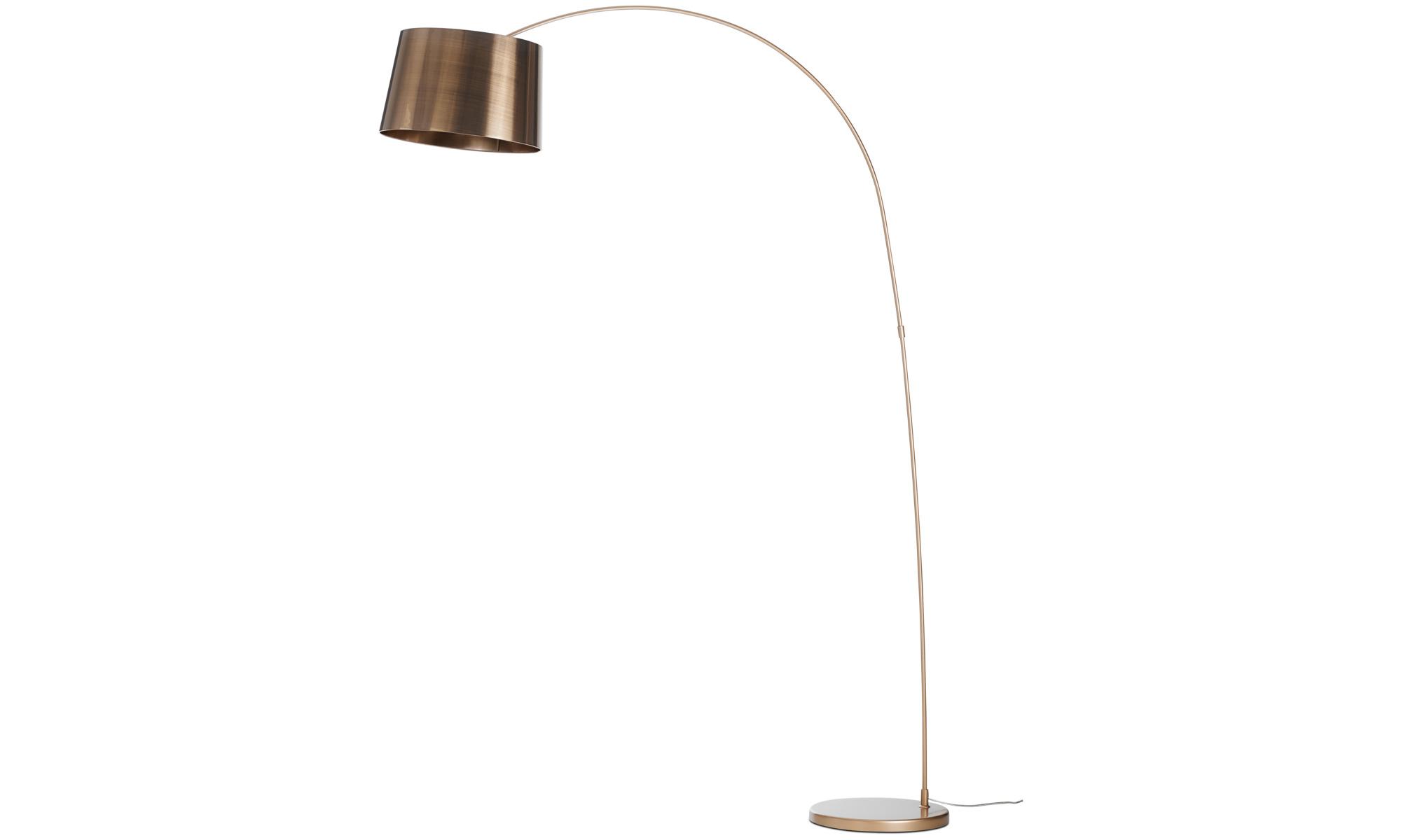Lampy - Lampa podłogowa Kuta - Pomarańczowy - Metal