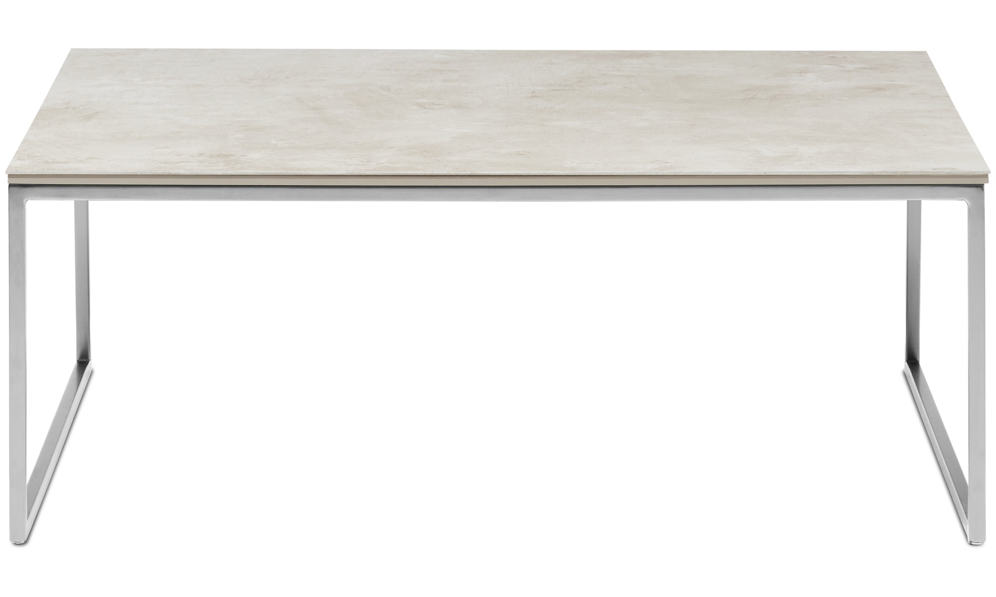 Coffee tables - Lugo coffee table - square - Gray - Ceramic ...