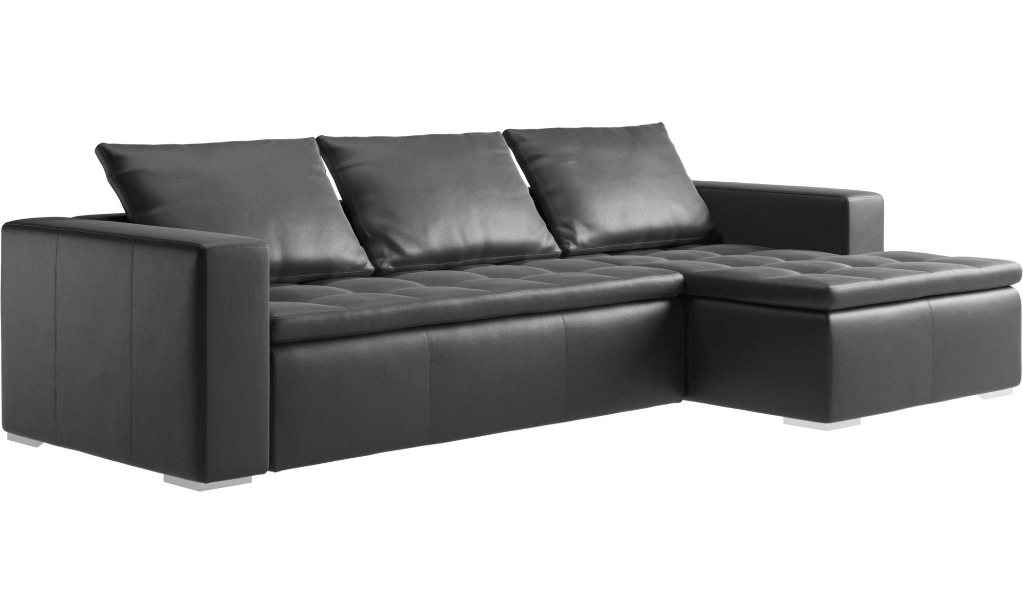 chaise longue sofas mezzo sofa with resting unit boconcept. Black Bedroom Furniture Sets. Home Design Ideas