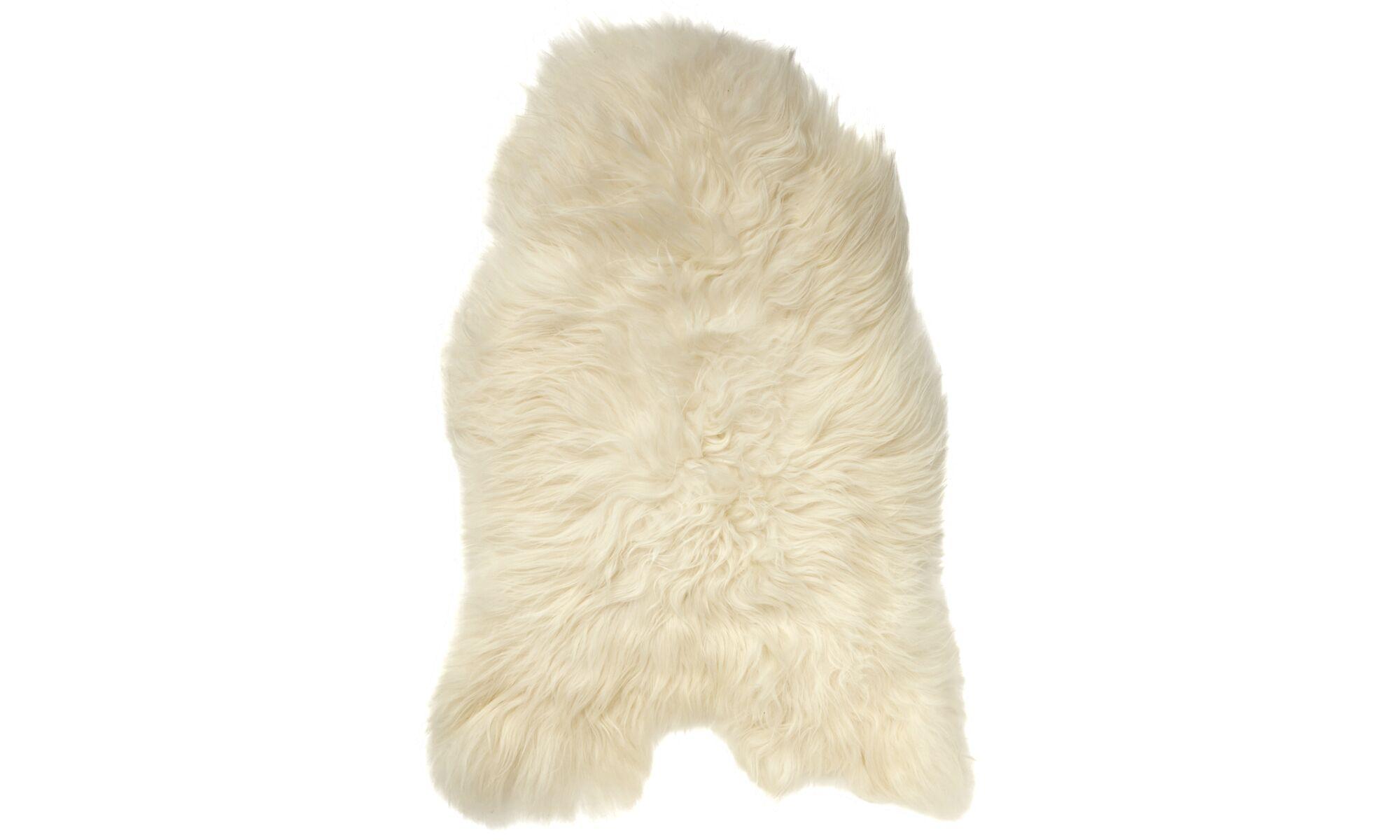 Lampaantaljat - Sheepskin-lampaantalja - Valkoinen - Lampaannahka