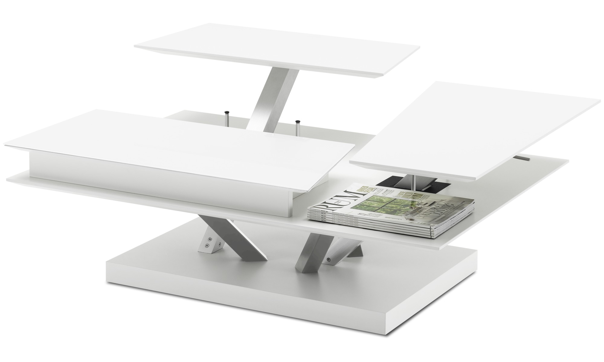 Coffee tables barcelona functional coffee table with storage boconcept - Table basse multifonction ...