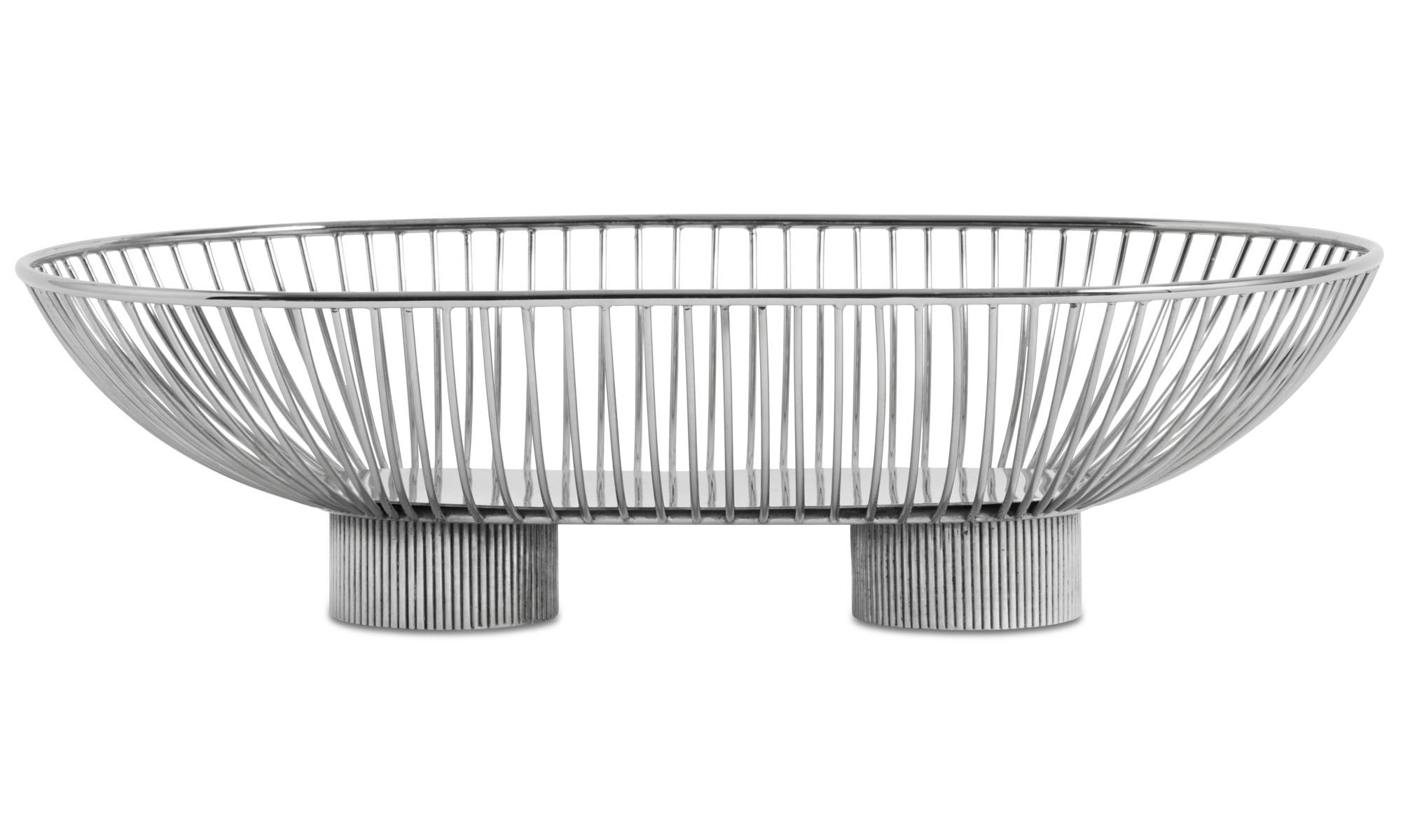 Decoratie - Line schaal - Grijs - Metaal