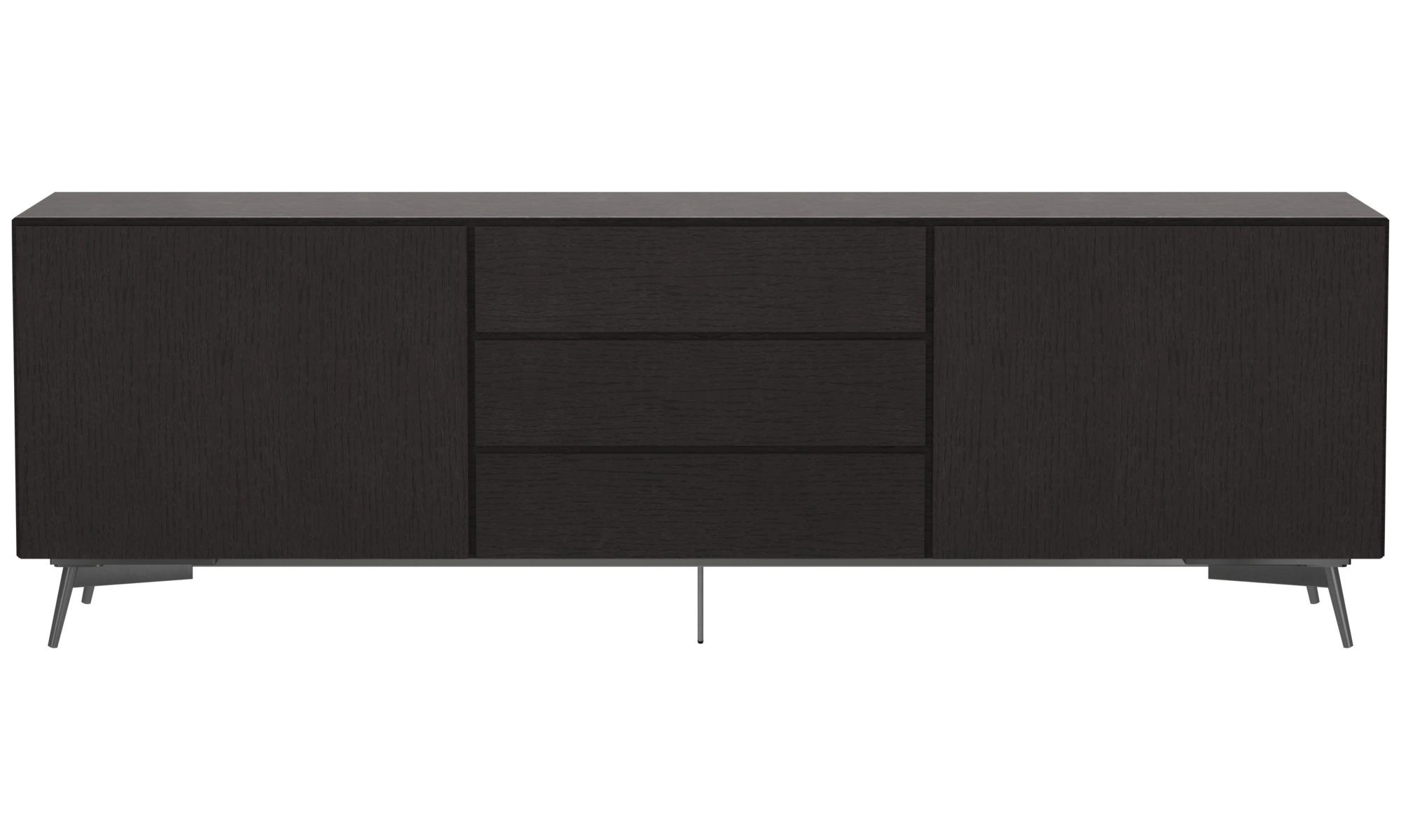 Sideboards - Lugano sideboard - Black - Oak
