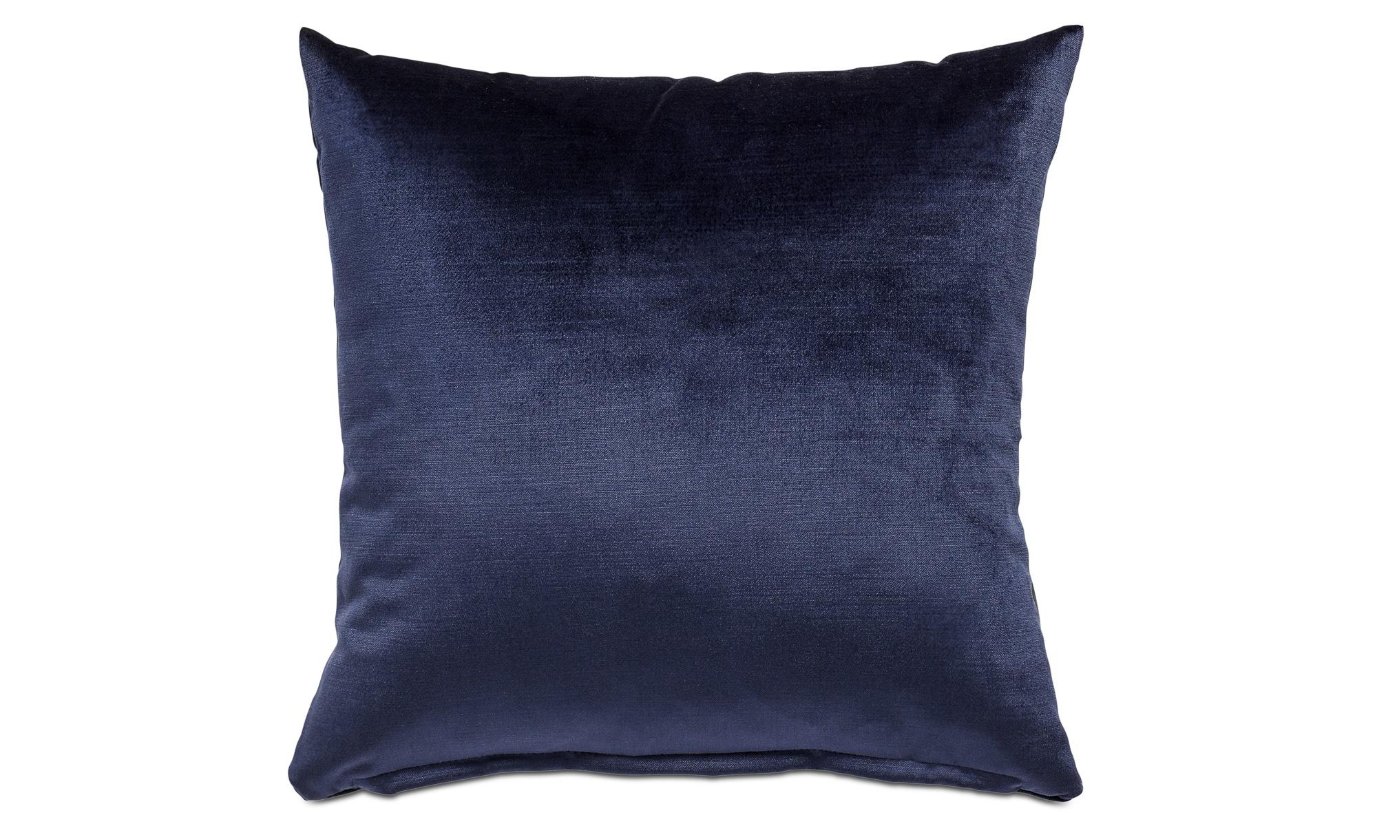 Cushions - Velvet cushion - Blue - Fabric