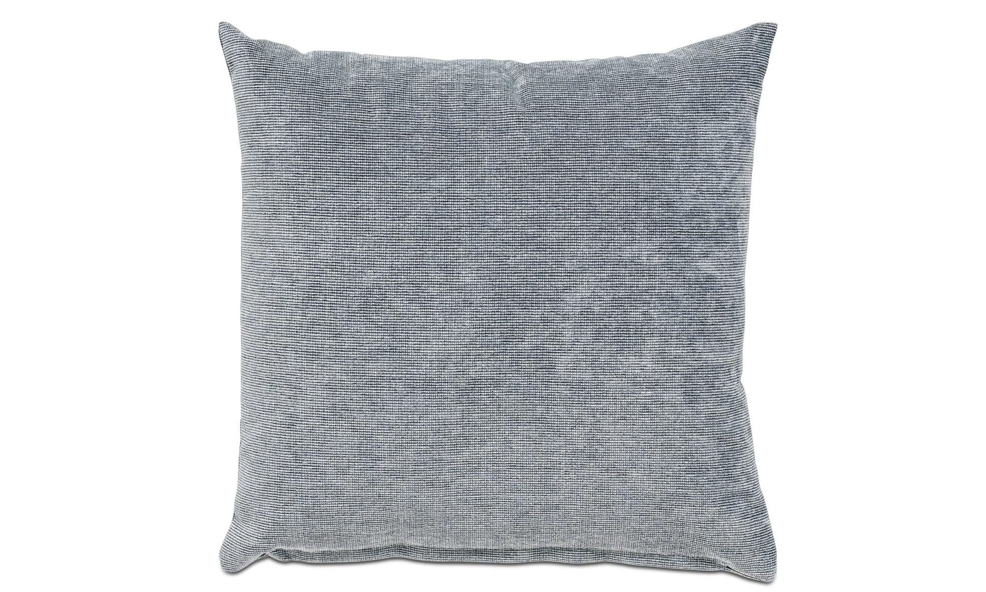 Cushions - Velvet rough cushion - Blue - Fabric