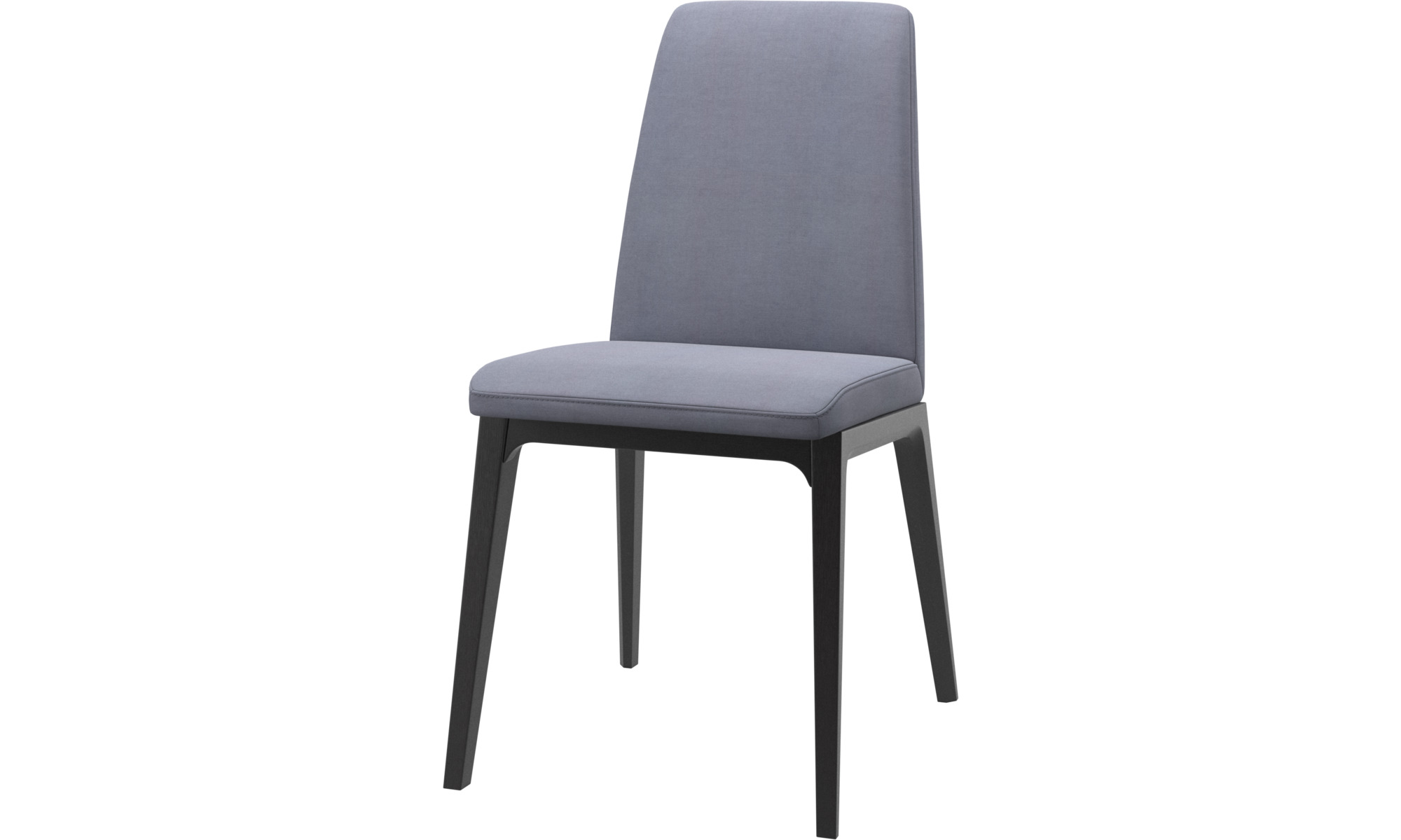 Dining chairs - Lausanne chair - Blue - Fabric
