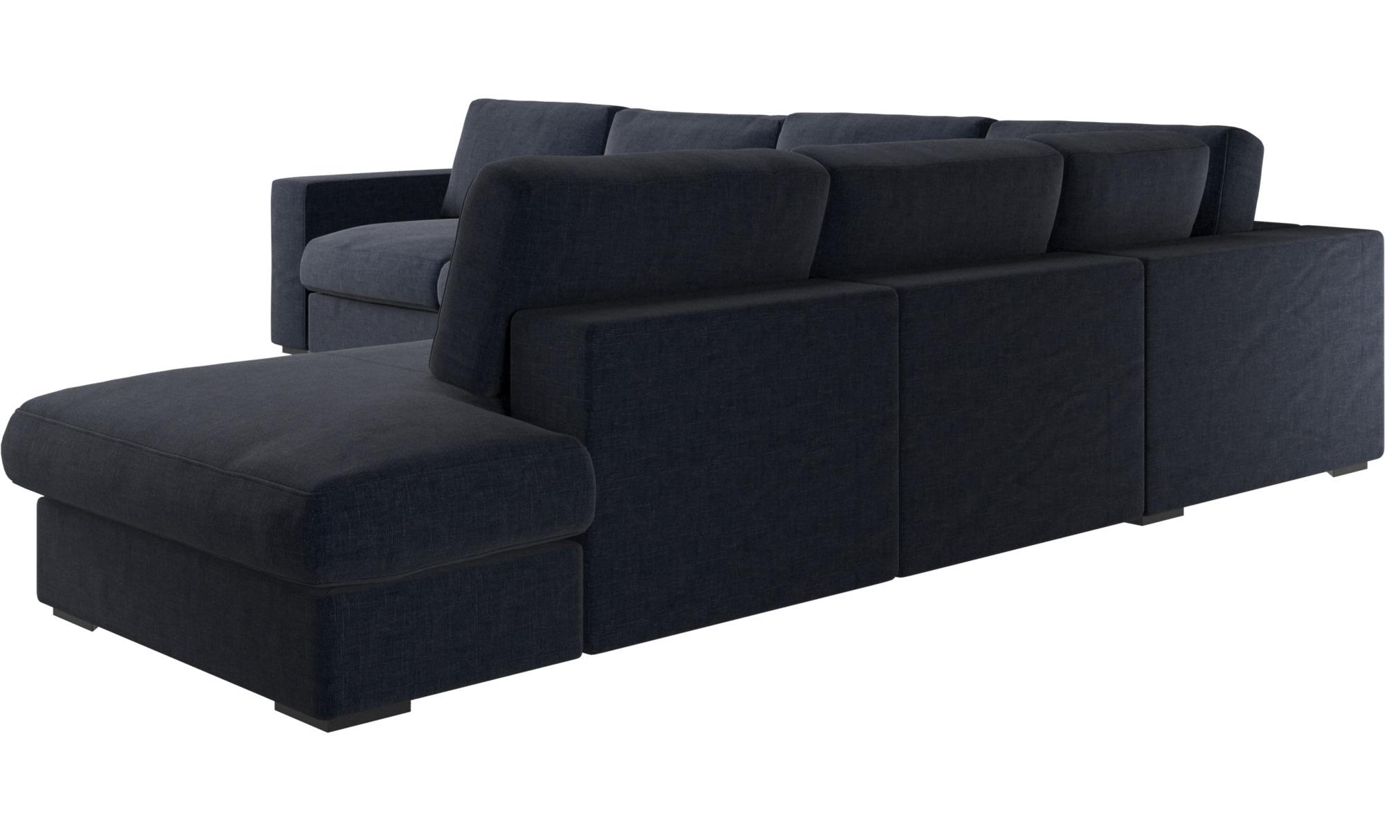 Una textura sofisticada sof esquinero cenova con m dulo - Sofas de descanso ...