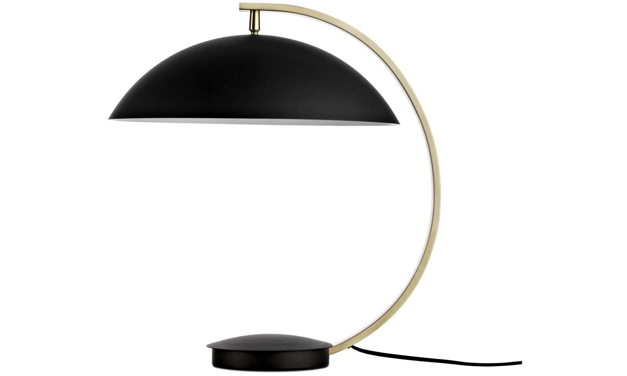 Lamps - Shelter table lamp - Black - Metal