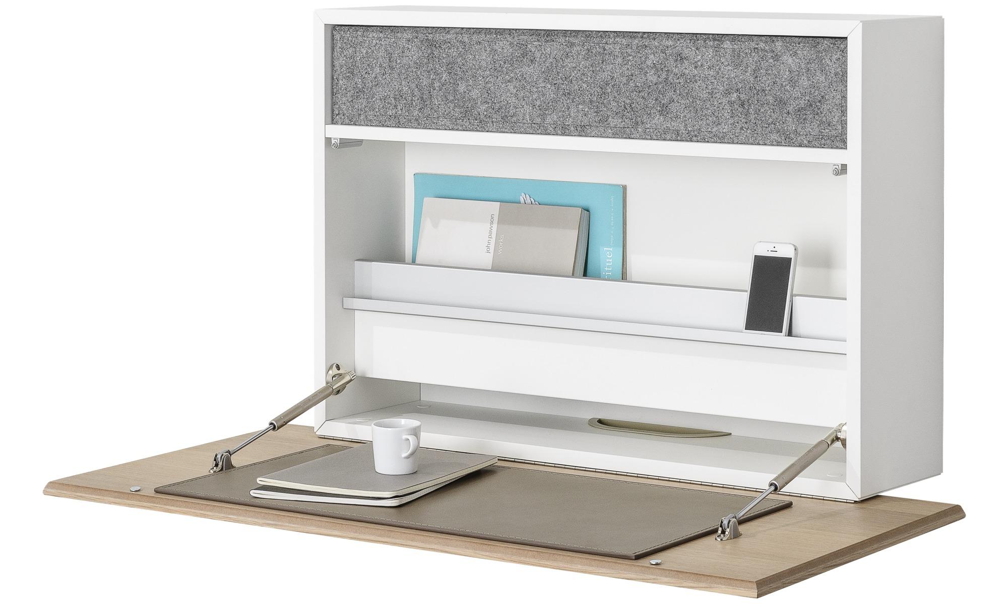 bureaus cupertino wandbureau boconcept. Black Bedroom Furniture Sets. Home Design Ideas