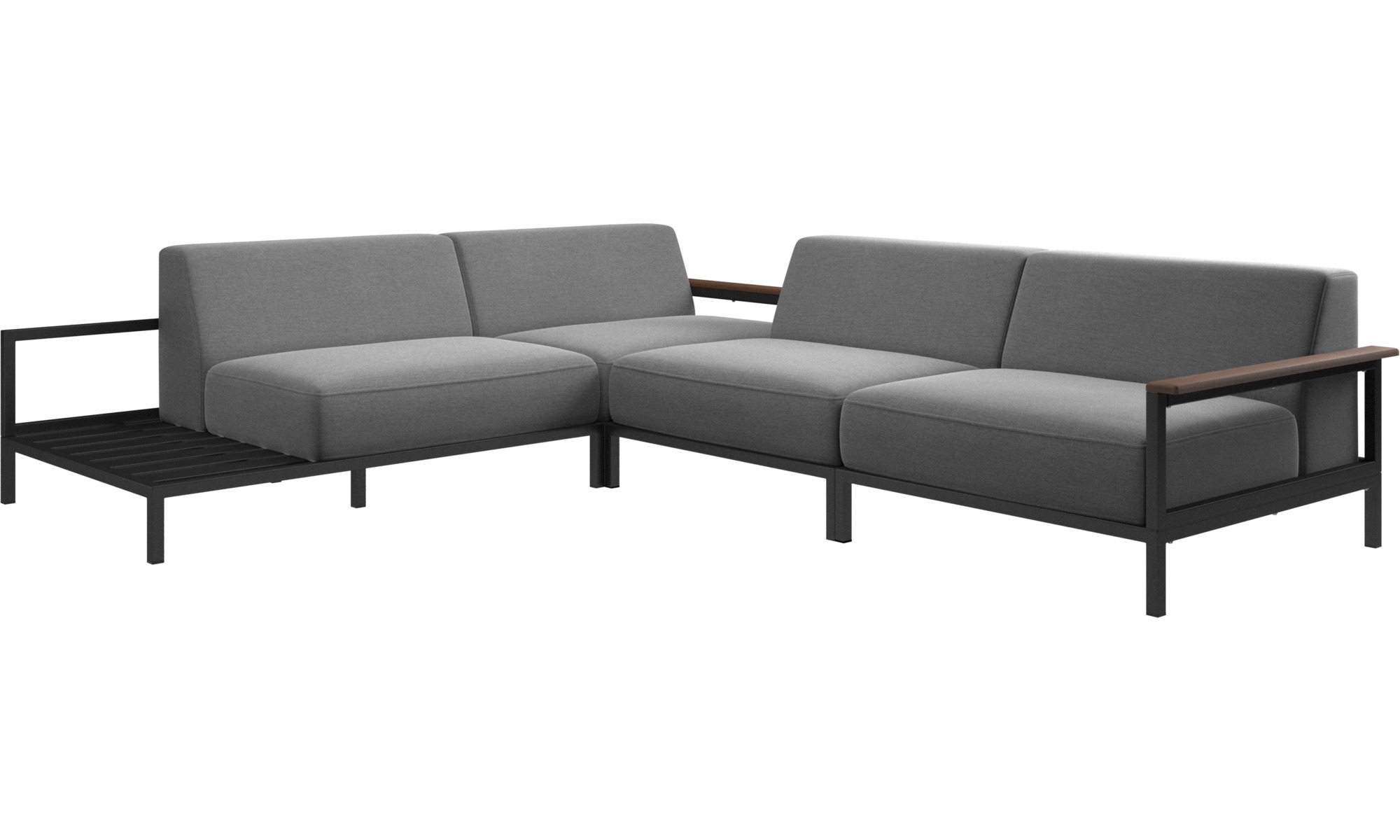 Outdoor Sofas Rome Sofa Grey Fabric