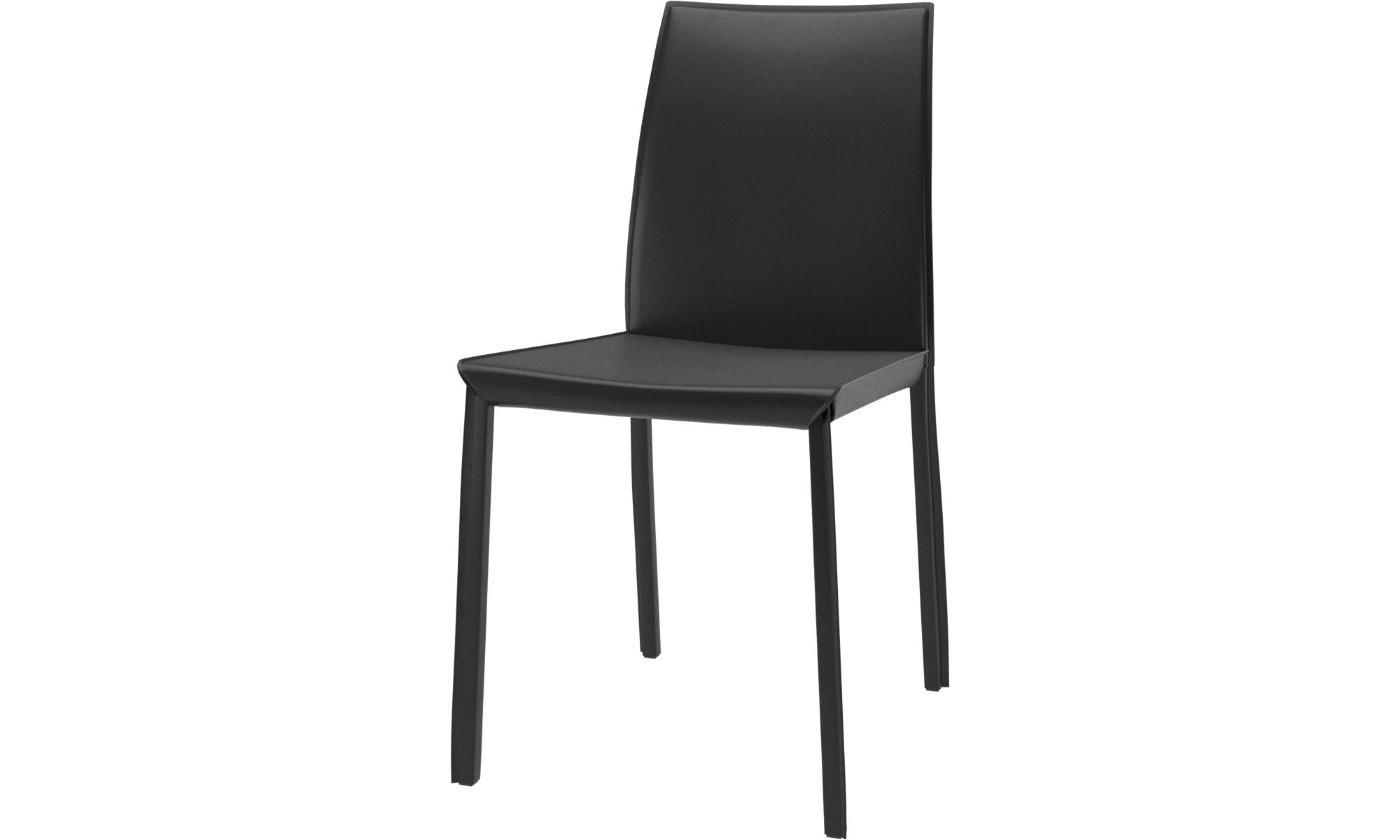 chaises de salle manger chaise zarra boconcept. Black Bedroom Furniture Sets. Home Design Ideas